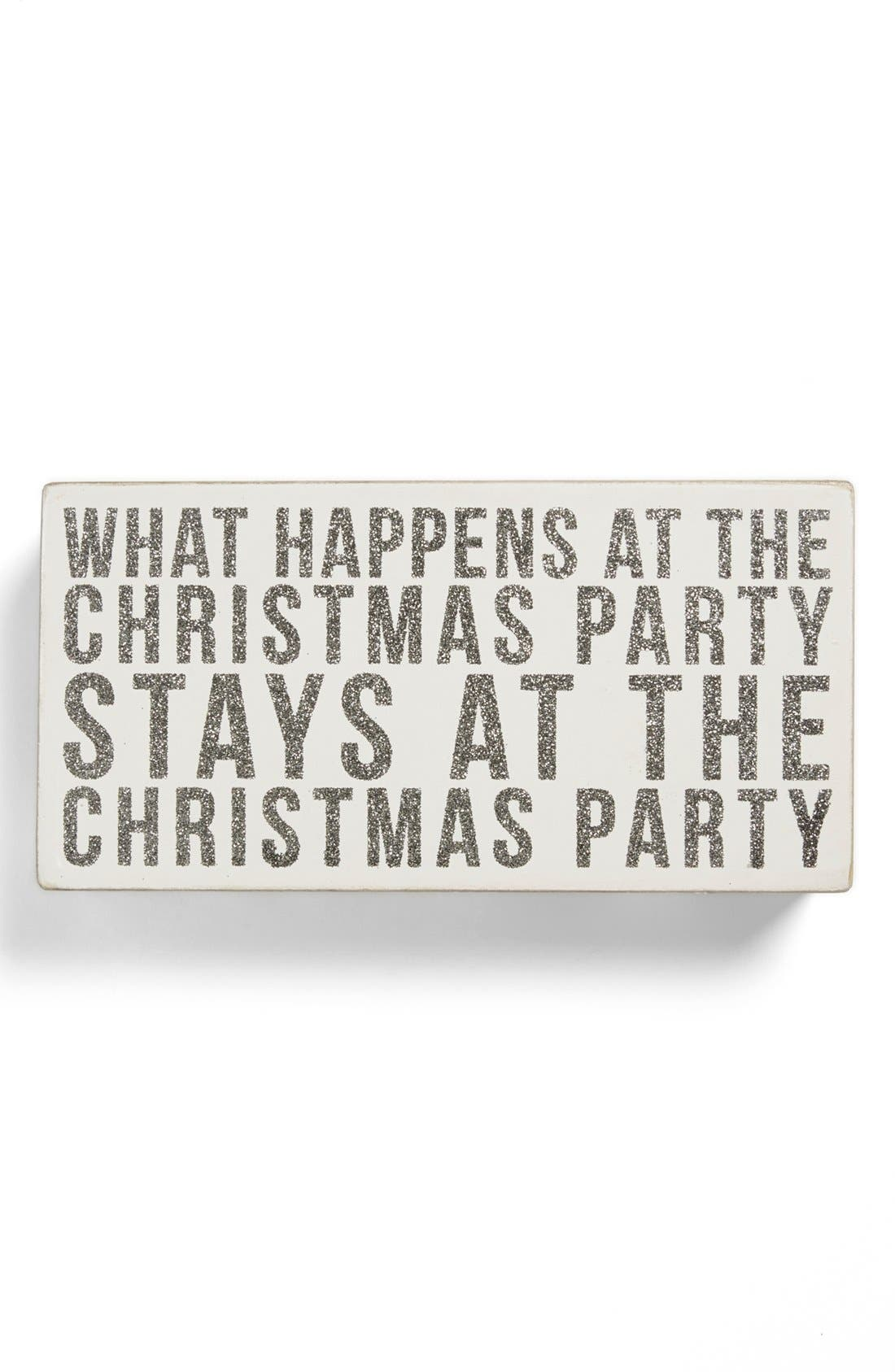 Main Image - Primitives by Kathy 'Christmas Party' Box Sign