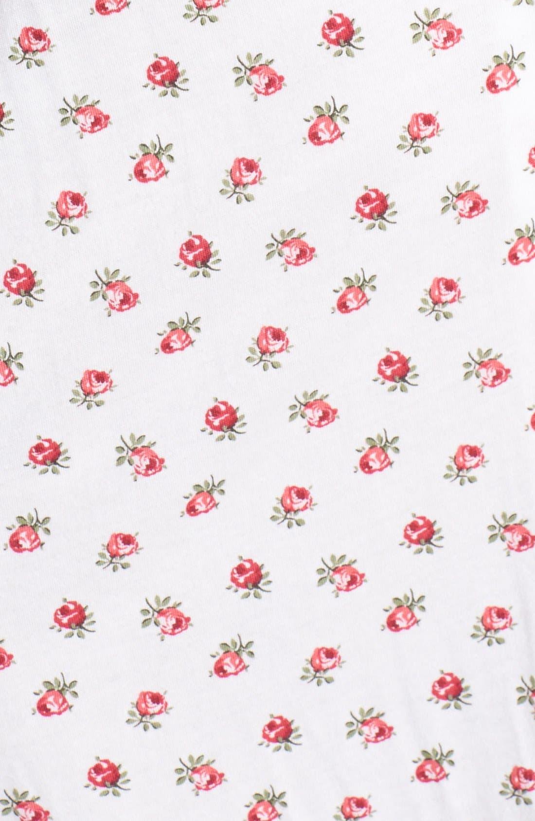 Alternate Image 3  - Carole Hochman Designs 'Rosebud Cherubs' Nightgown