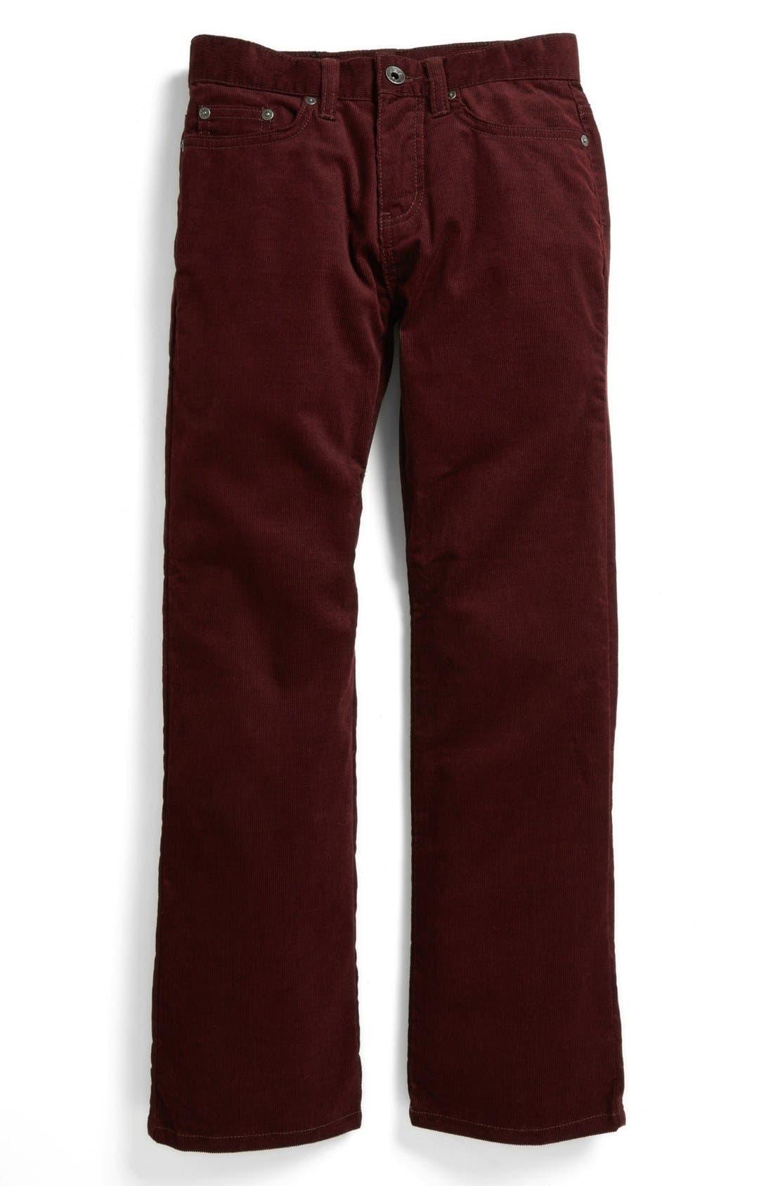 Alternate Image 2  - John Varvatos Star USA Corduroy Jeans (Big Boys)
