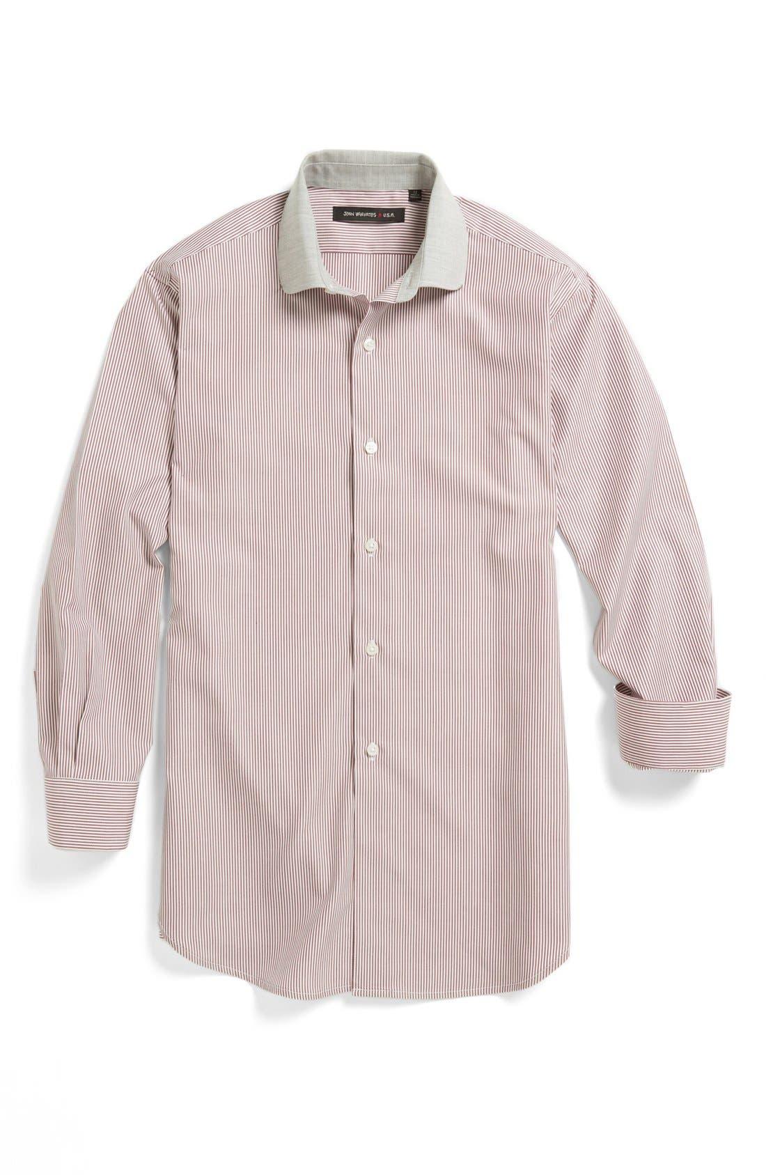 Main Image - John Varvatos Star USA Dress Shirt (Big Boys)