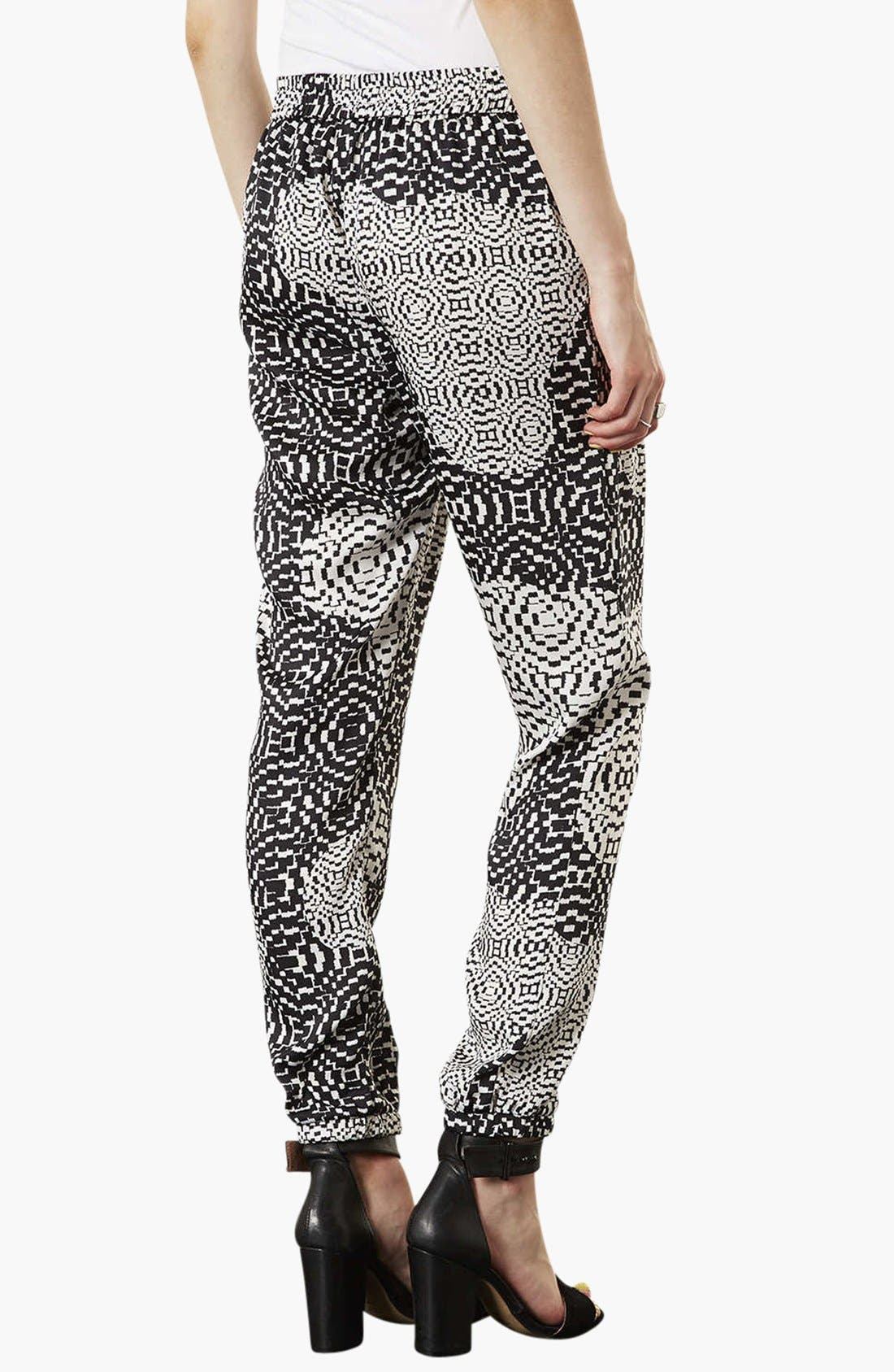 Alternate Image 2  - Topshop Print Jogging Pants