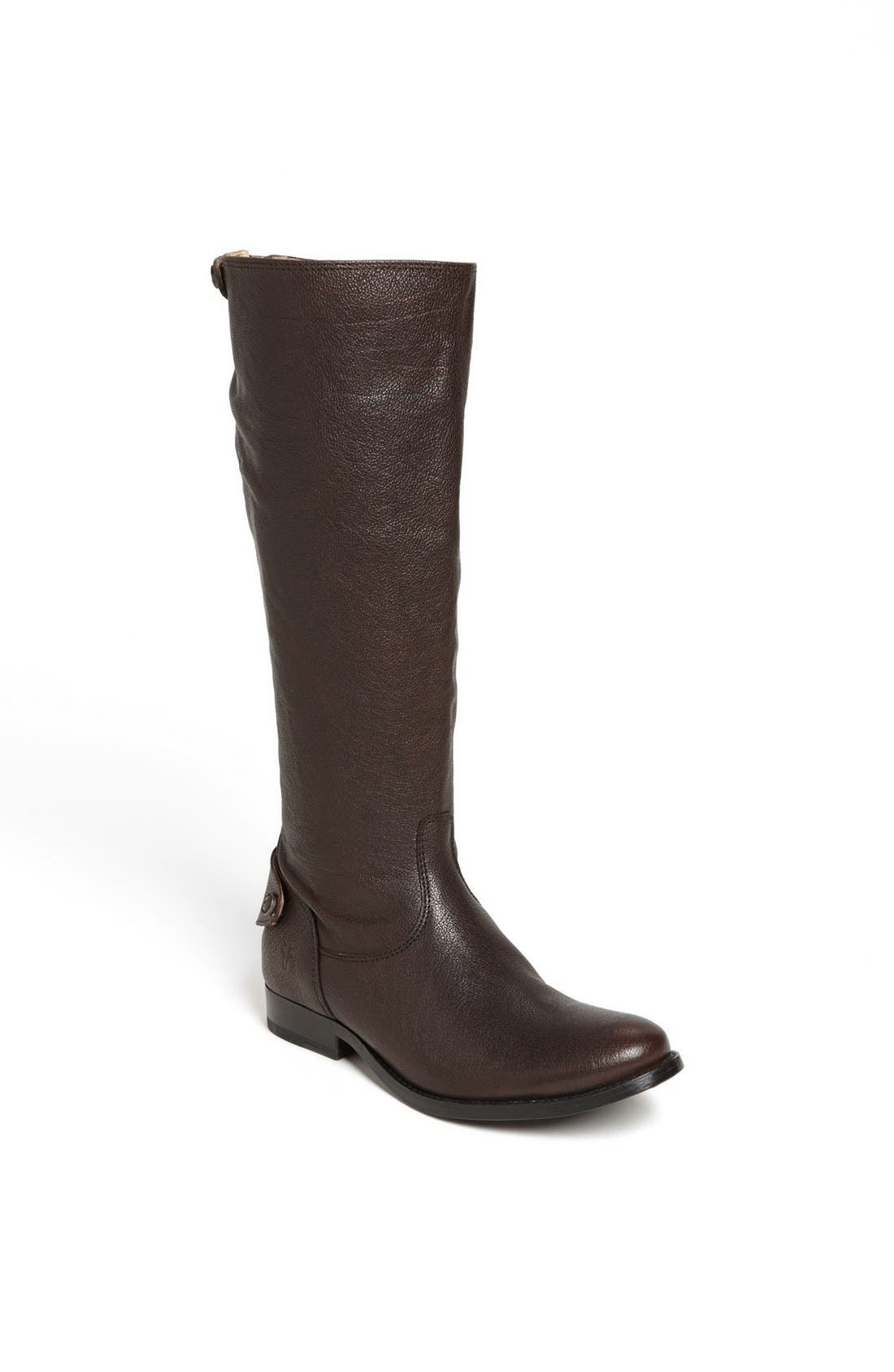 Alternate Image 1 Selected - FRYE MELISSA BUTTON BACK ZIP BOOT