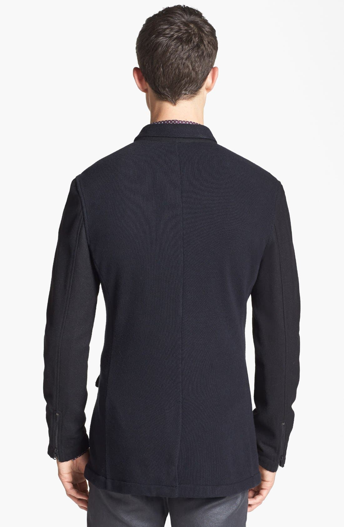 Alternate Image 2  - John Varvatos Star USA Knit Jacket