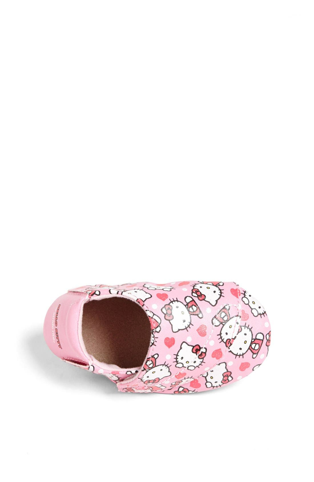 Alternate Image 3  - Stride Rite 'Hello Kitty®' Crib Shoe (Baby Girls)