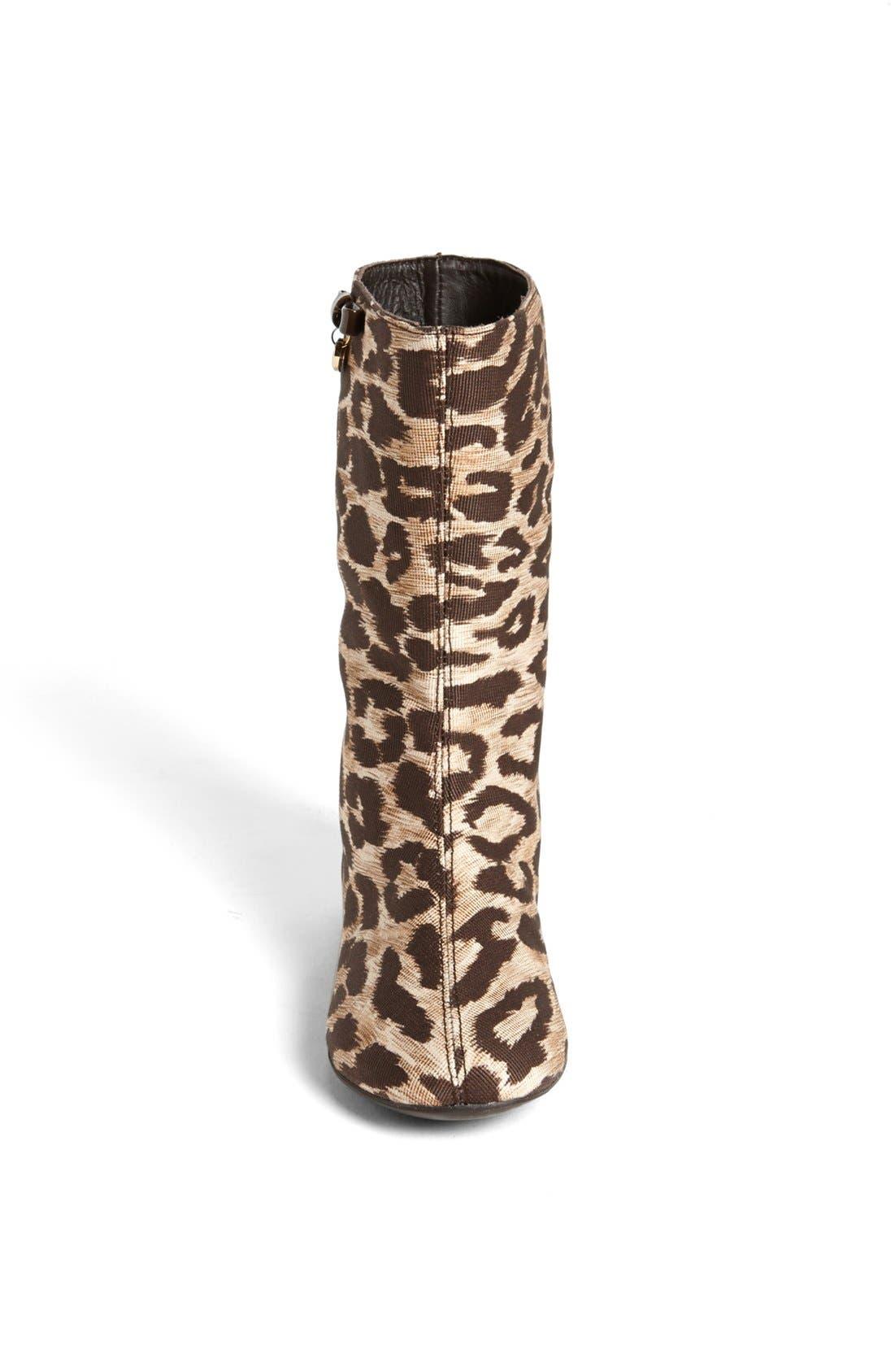 Alternate Image 3  - Dolce&Gabbana 'Tessuto Leo' Boot (Toddler & Little Kid)