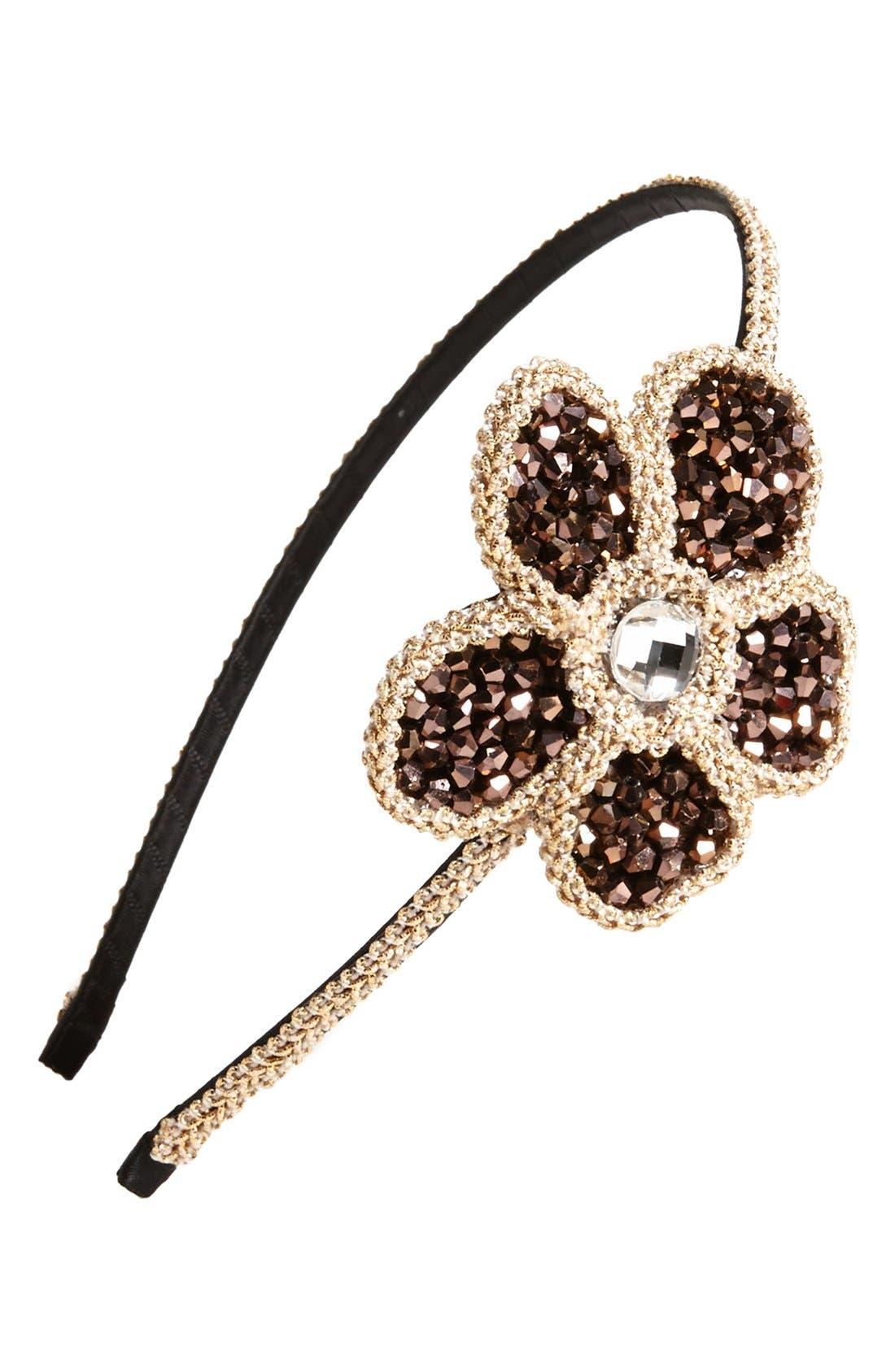 Alternate Image 1 Selected - Cara 'Soft & Sweet' Flower Headband