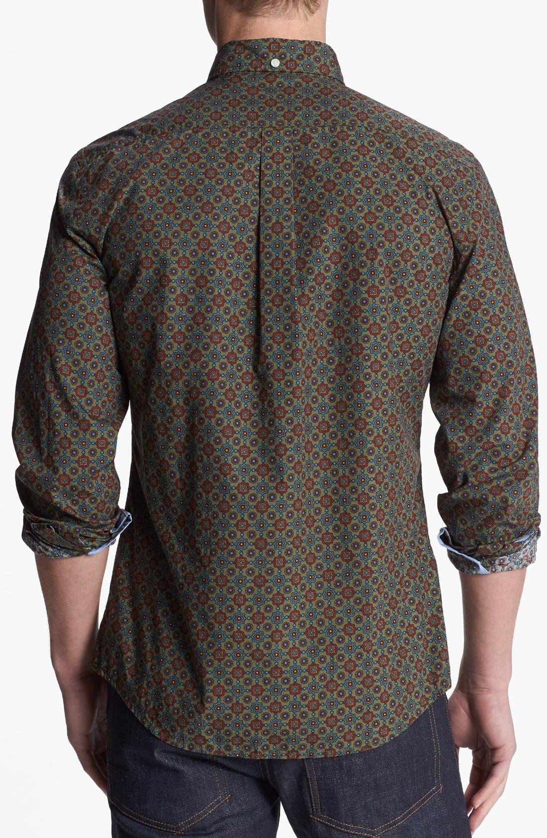 Alternate Image 2  - Dockers® Print Woven Shirt