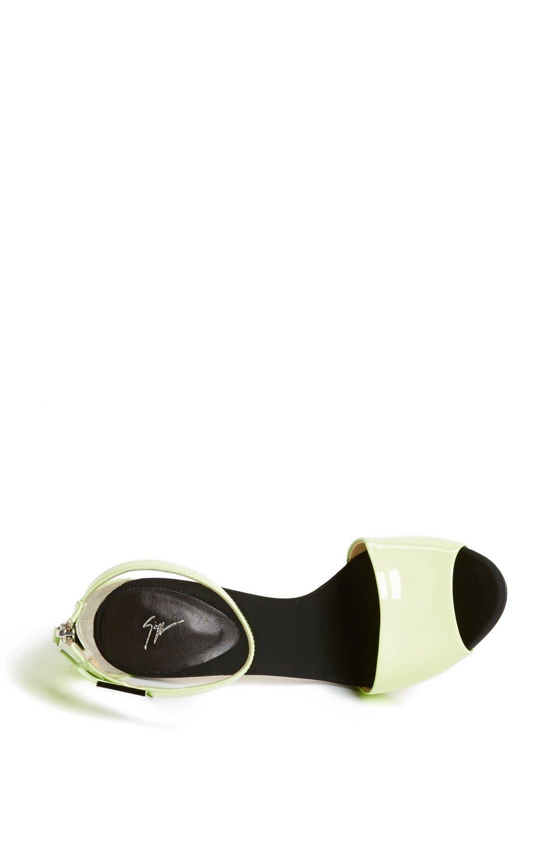 Alternate Image 4  - Giuseppe Zanotti Metal Heel Sandal