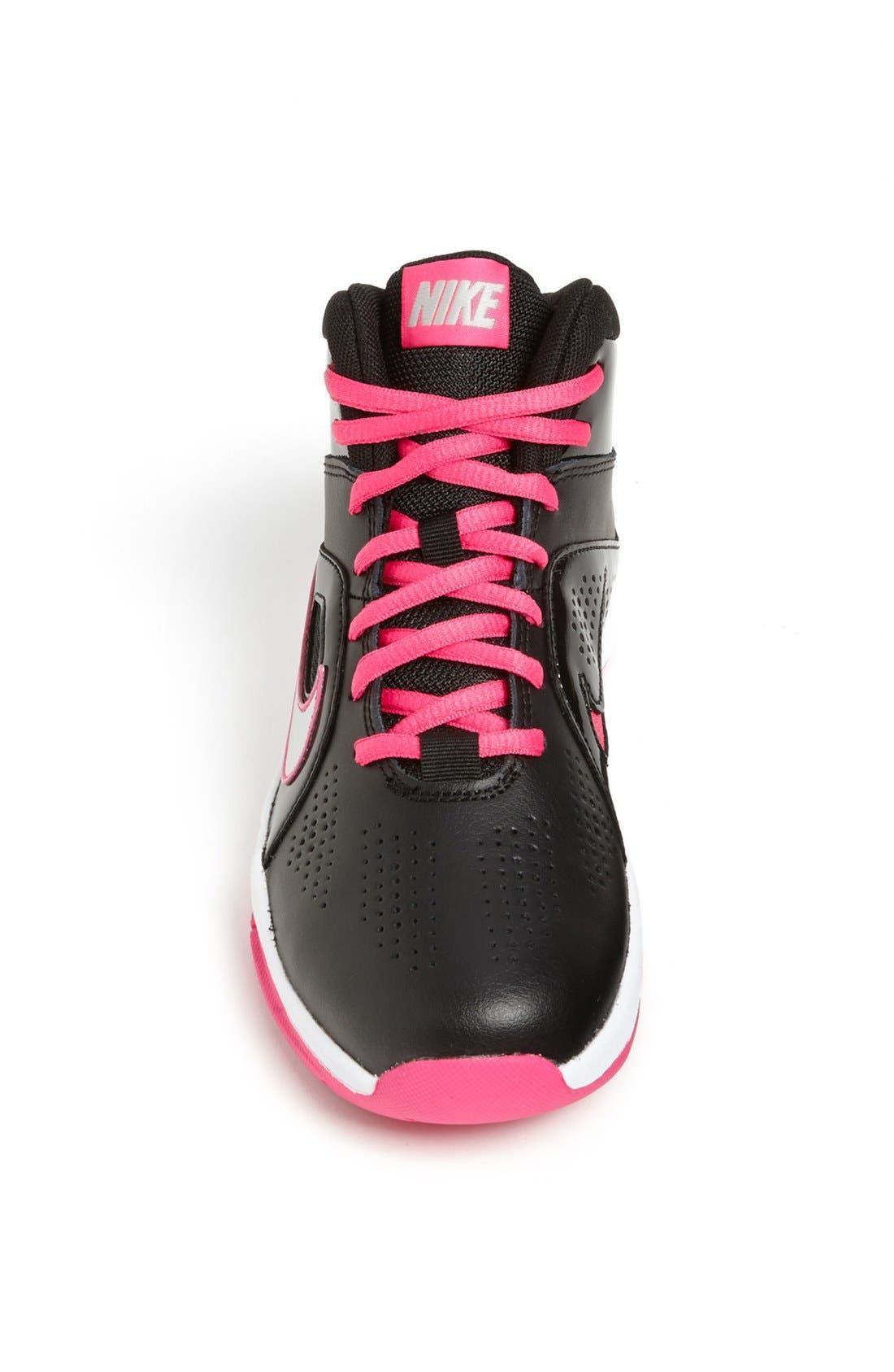 Alternate Image 3  - Nike 'Team Hustle' Basketball Shoe (Toddler, Little Kid & Big Kid)