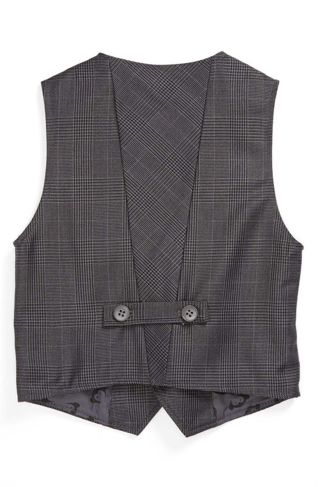 Alternate Image 2  - Appaman Glen Plaid Vest (Toddler Boys)