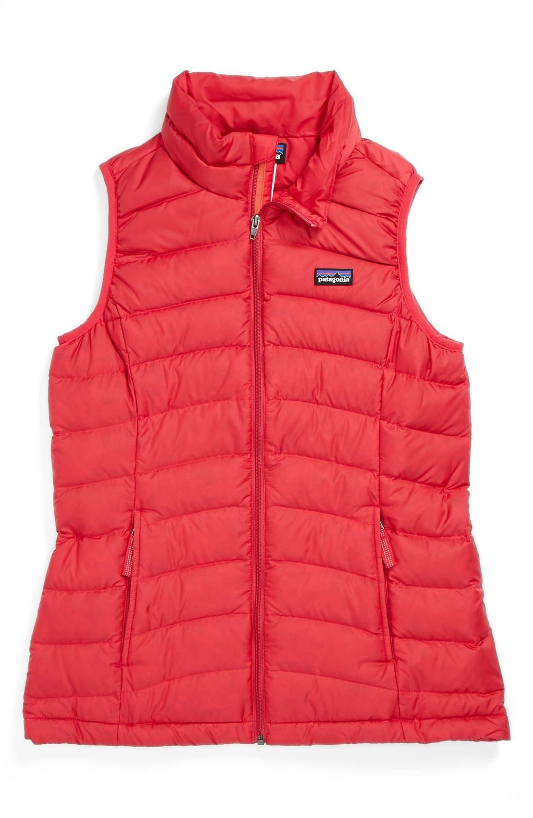 Alternate Image 1 Selected - Patagonia Down Vest (Little Girls & Big Girls)