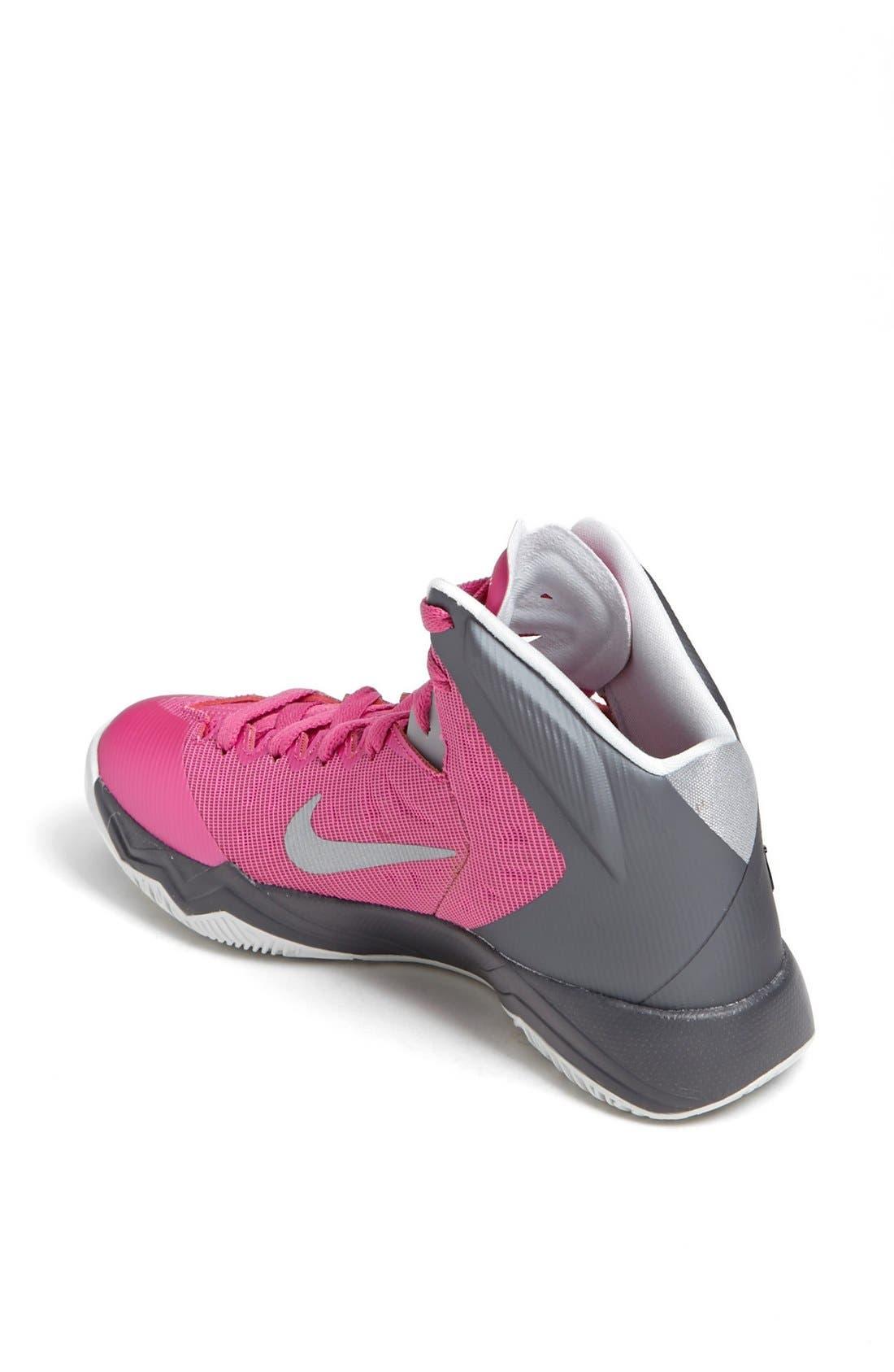 Alternate Image 2  - Nike 'Hyper Quickness' Basketball Shoe (Women)
