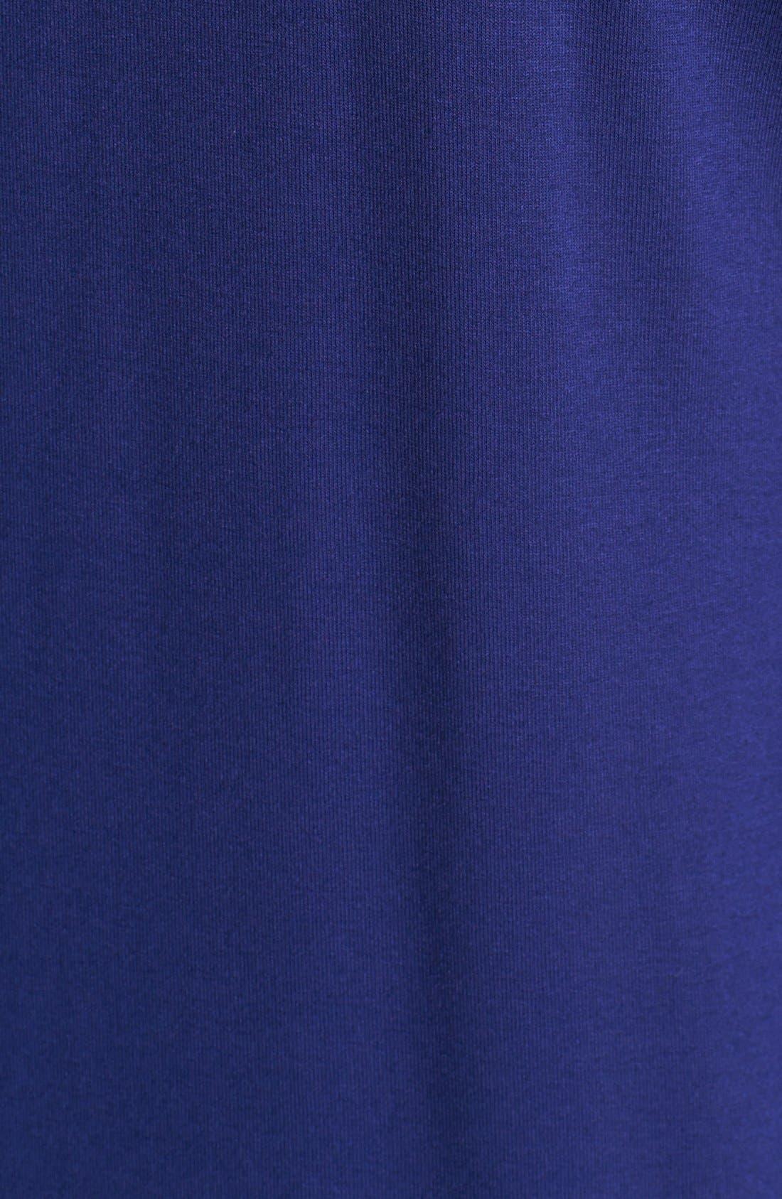 Alternate Image 3  - Evans Pintucked Jersey Shirt (Plus Size)