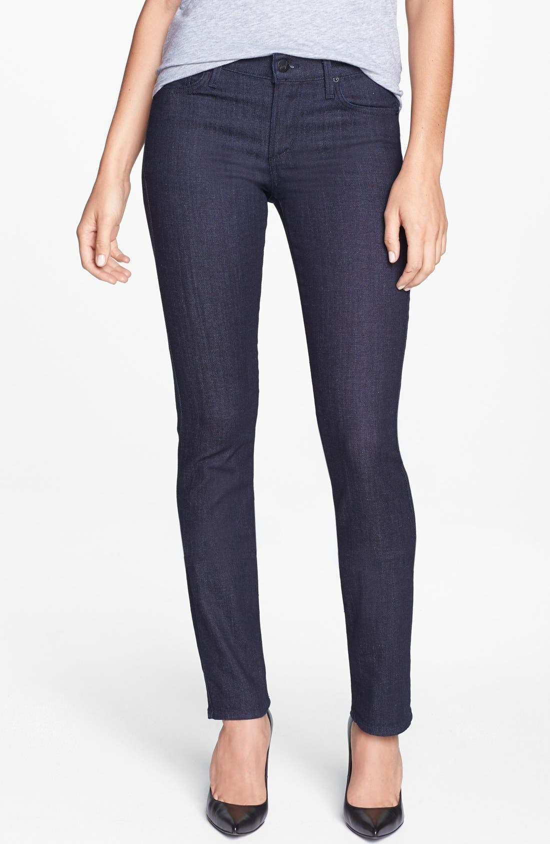 Alternate Image 1 Selected - A Gold E 'Elodie' Low Rise Straight Leg Jeans (Paris)