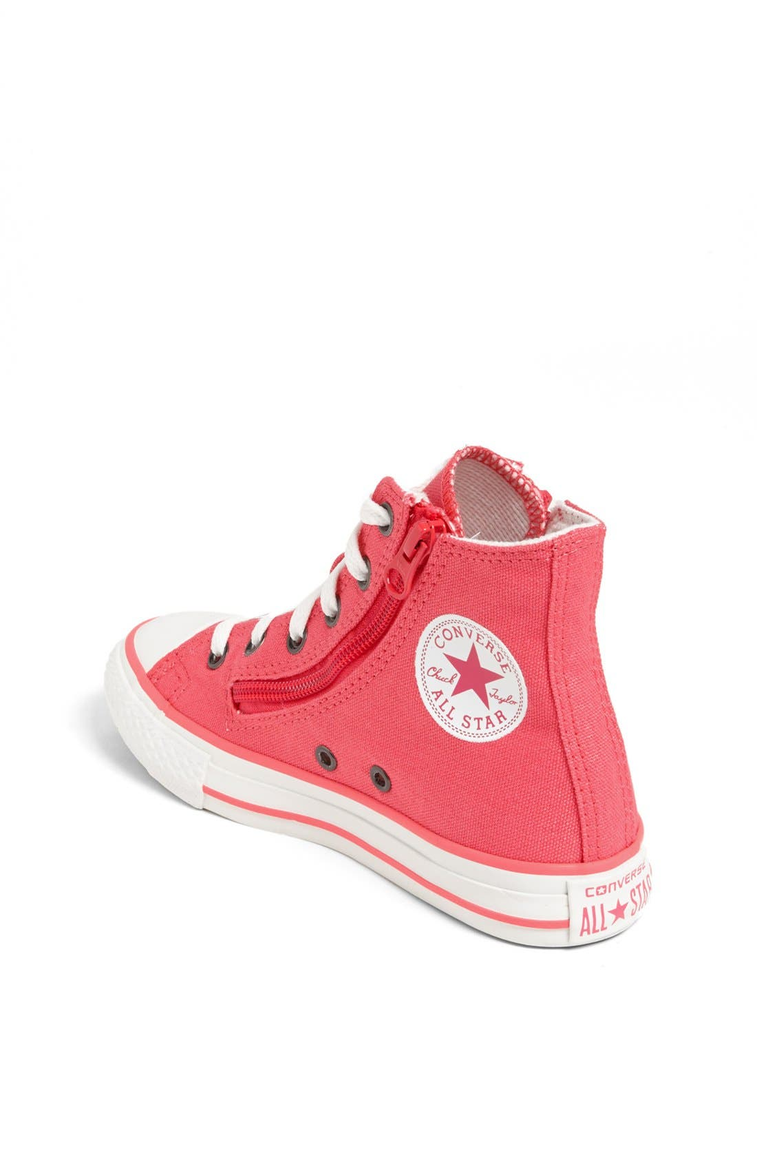 Alternate Image 2  - Converse Chuck Taylor® All Star® High Top Sneaker (Toddler, Little Kid & Big Kid)
