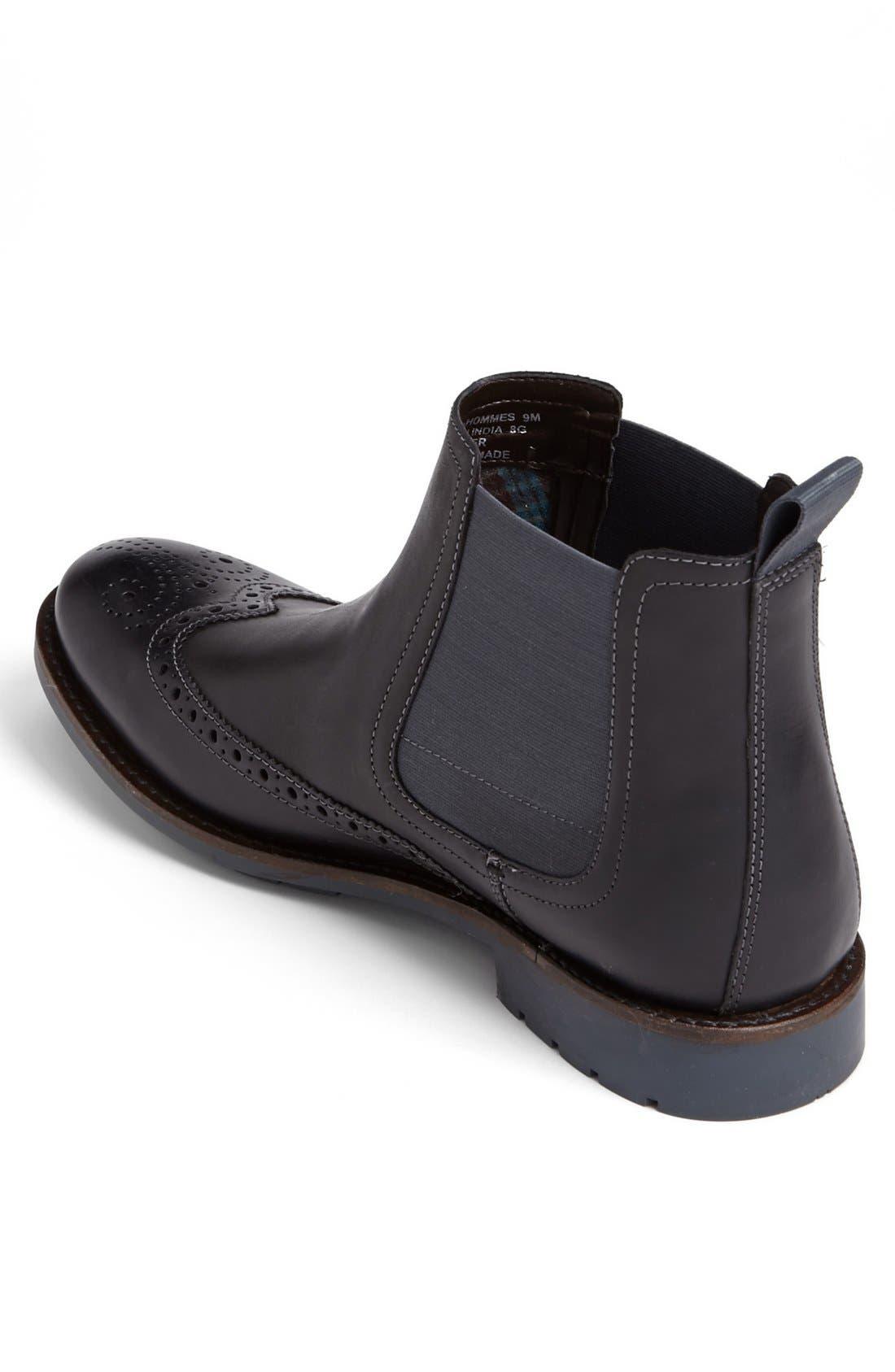Alternate Image 2  - Clarks® 'Garnet' Wingtip Chelsea Boot   (Men)