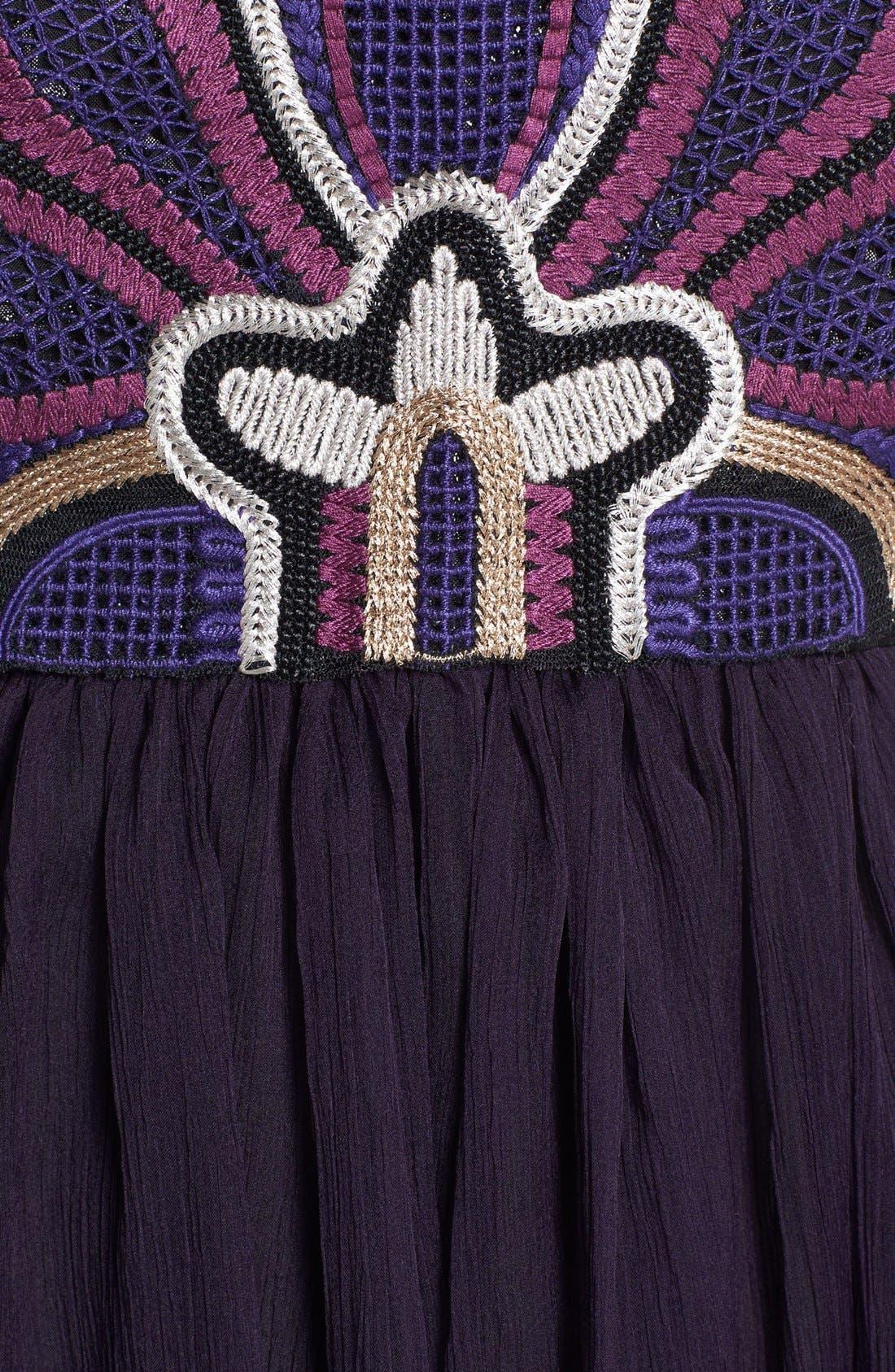 Alternate Image 3  - Free People 'Lotus Pond' Embellished Fit & Flare Dress