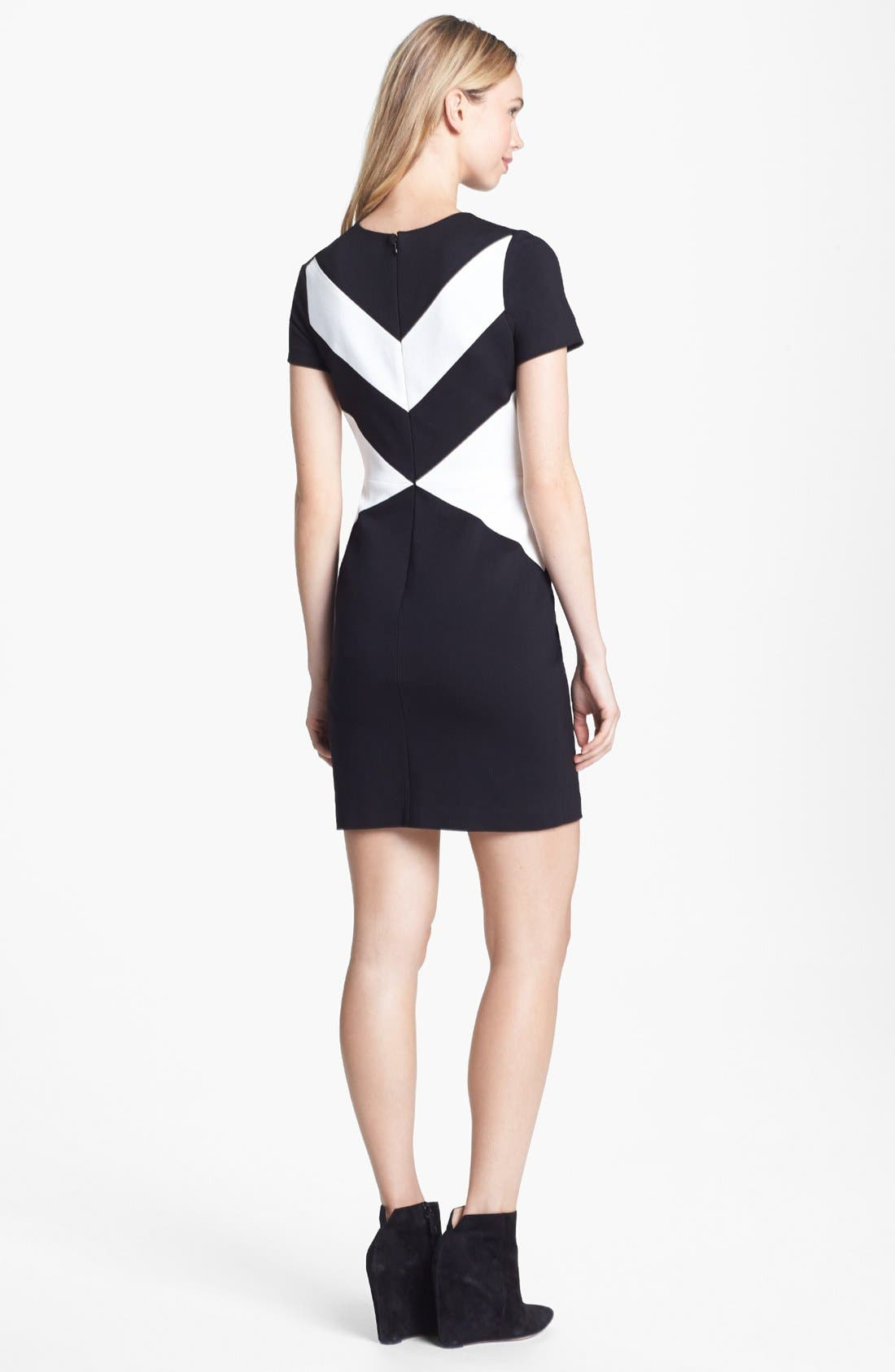 Alternate Image 2  - Vince Camuto Cap Sleeve Sheath Dress