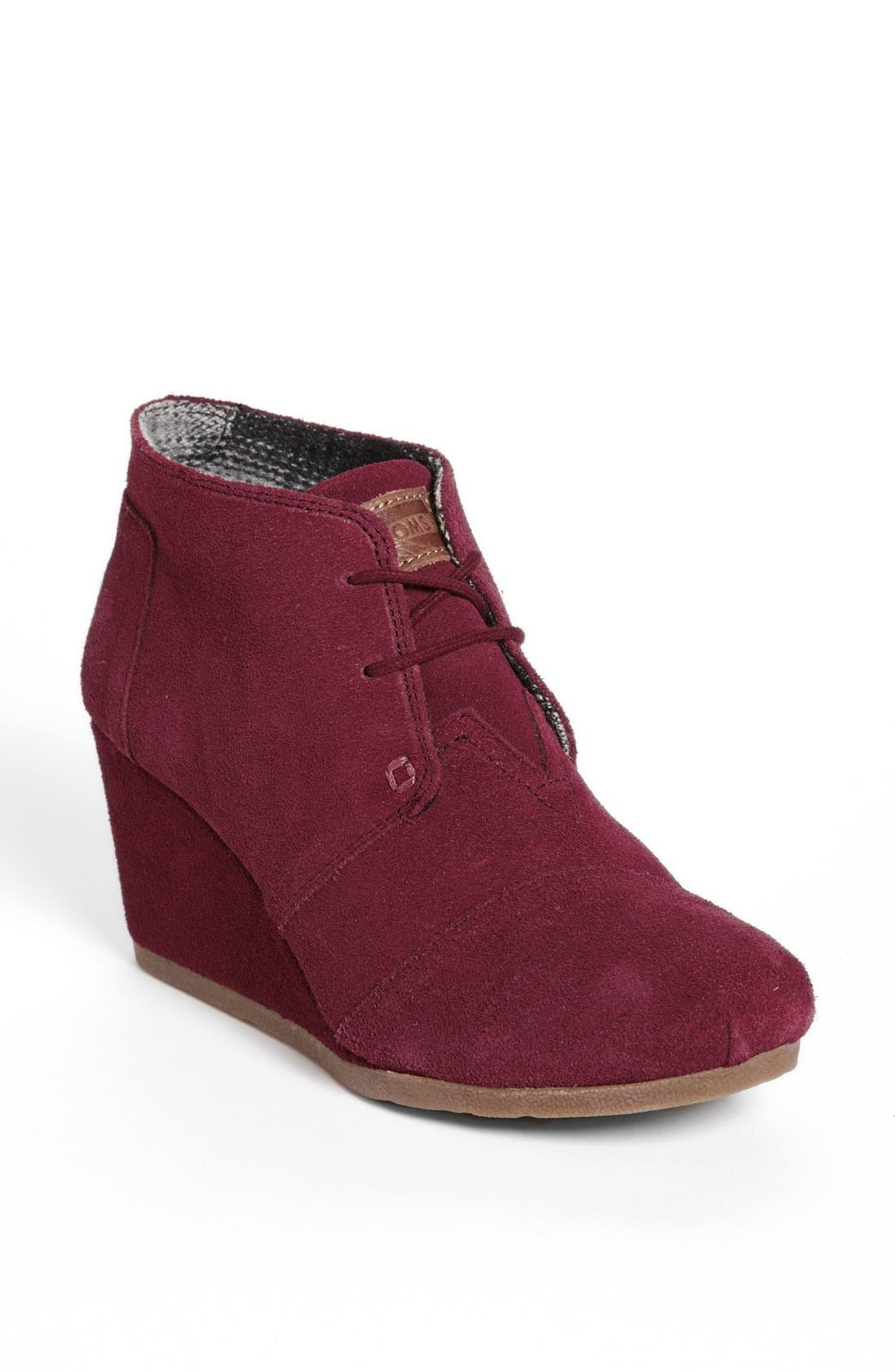 Alternate Image 1 Selected - TOMS 'Desert' Wedge Bootie