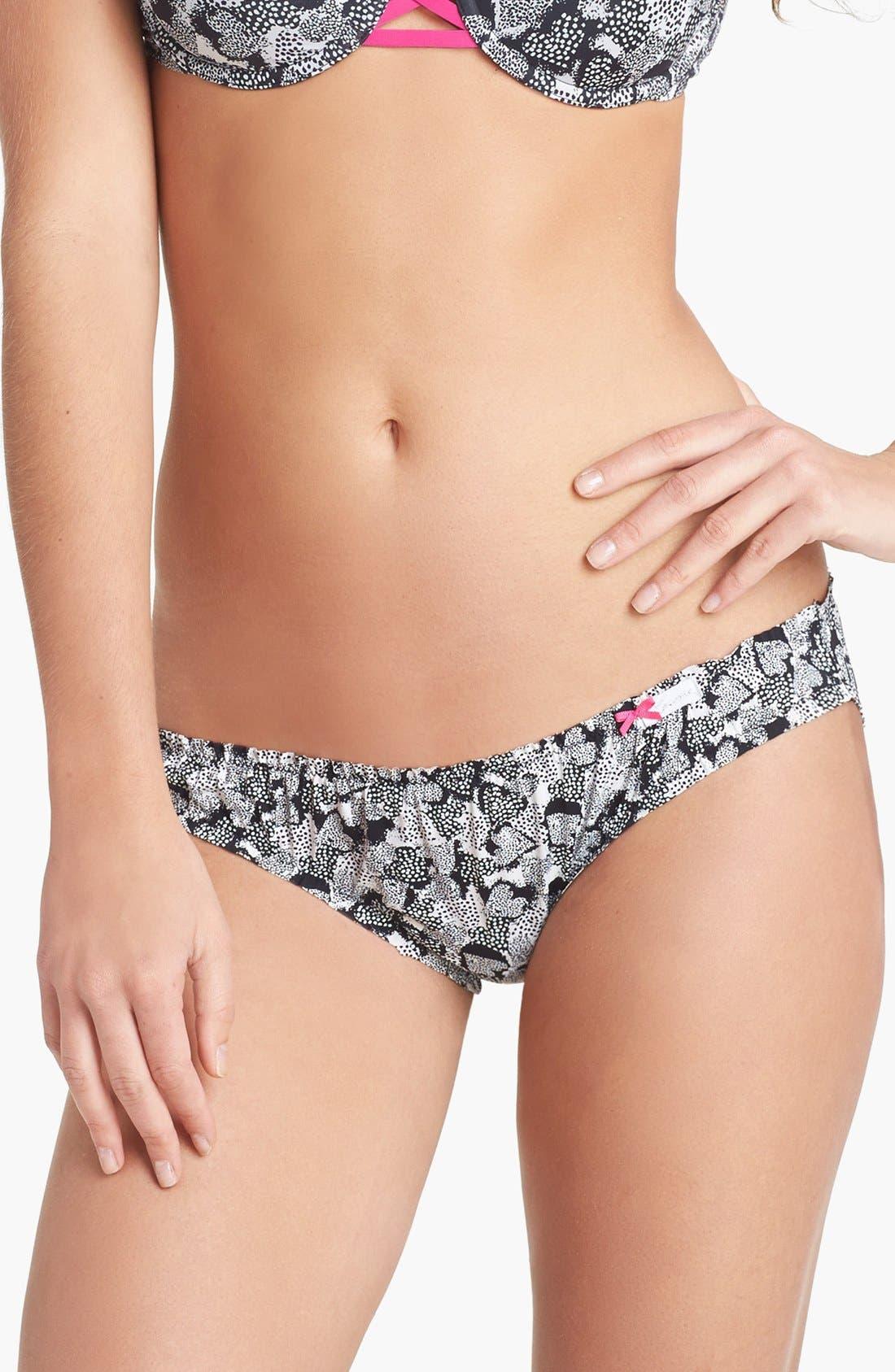 Alternate Image 1 Selected - kensie 'Lucia' Bikini (3 for $30)