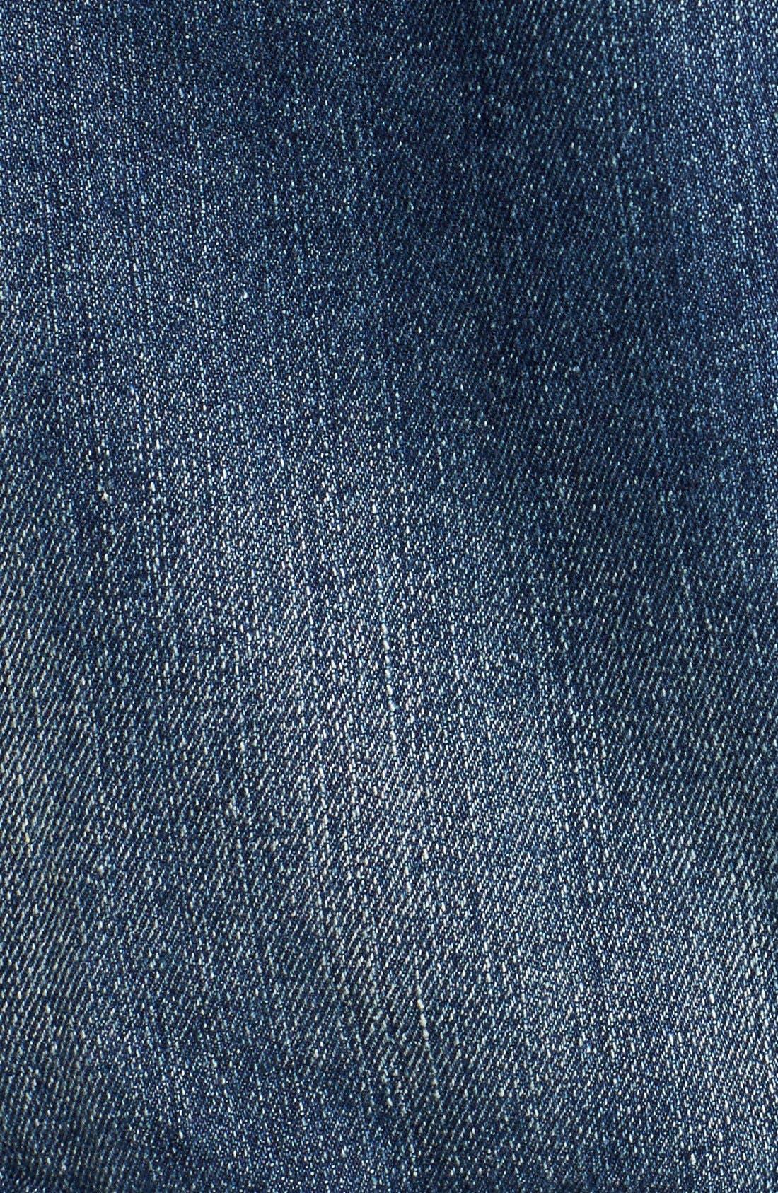 Alternate Image 3  - Thread & Supply Hooded Denim Jacket (Juniors)