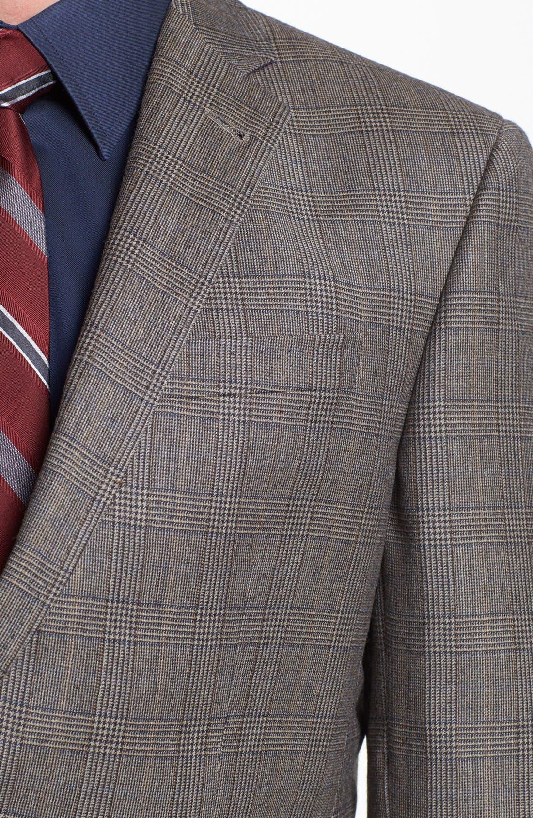 Alternate Image 2  - Ted Baker London 'Jones' Trim Fit Plaid Suit