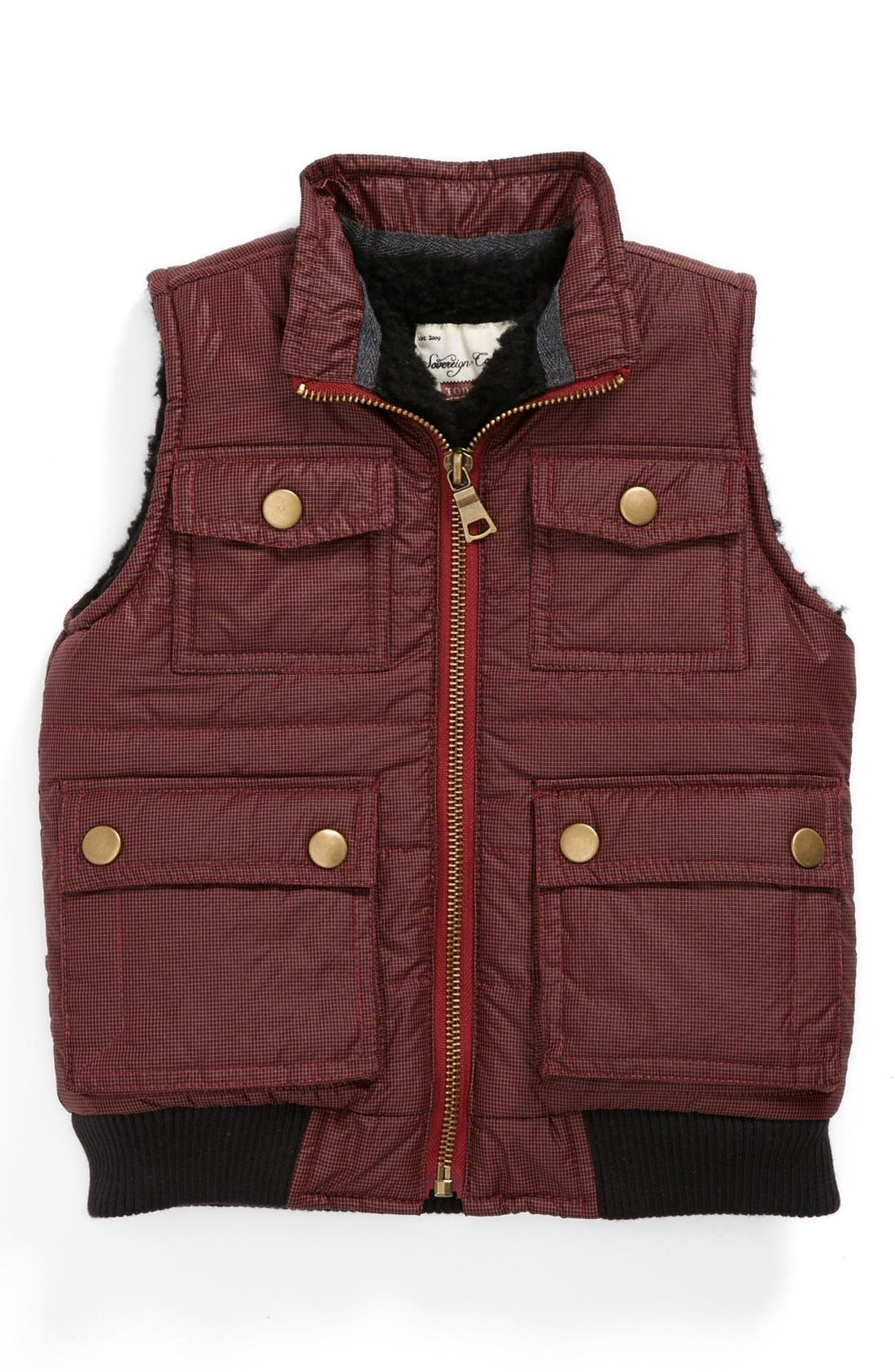 Alternate Image 1 Selected - Sovereign Code 'Holloran' Puffy Vest (Toddler Boys)