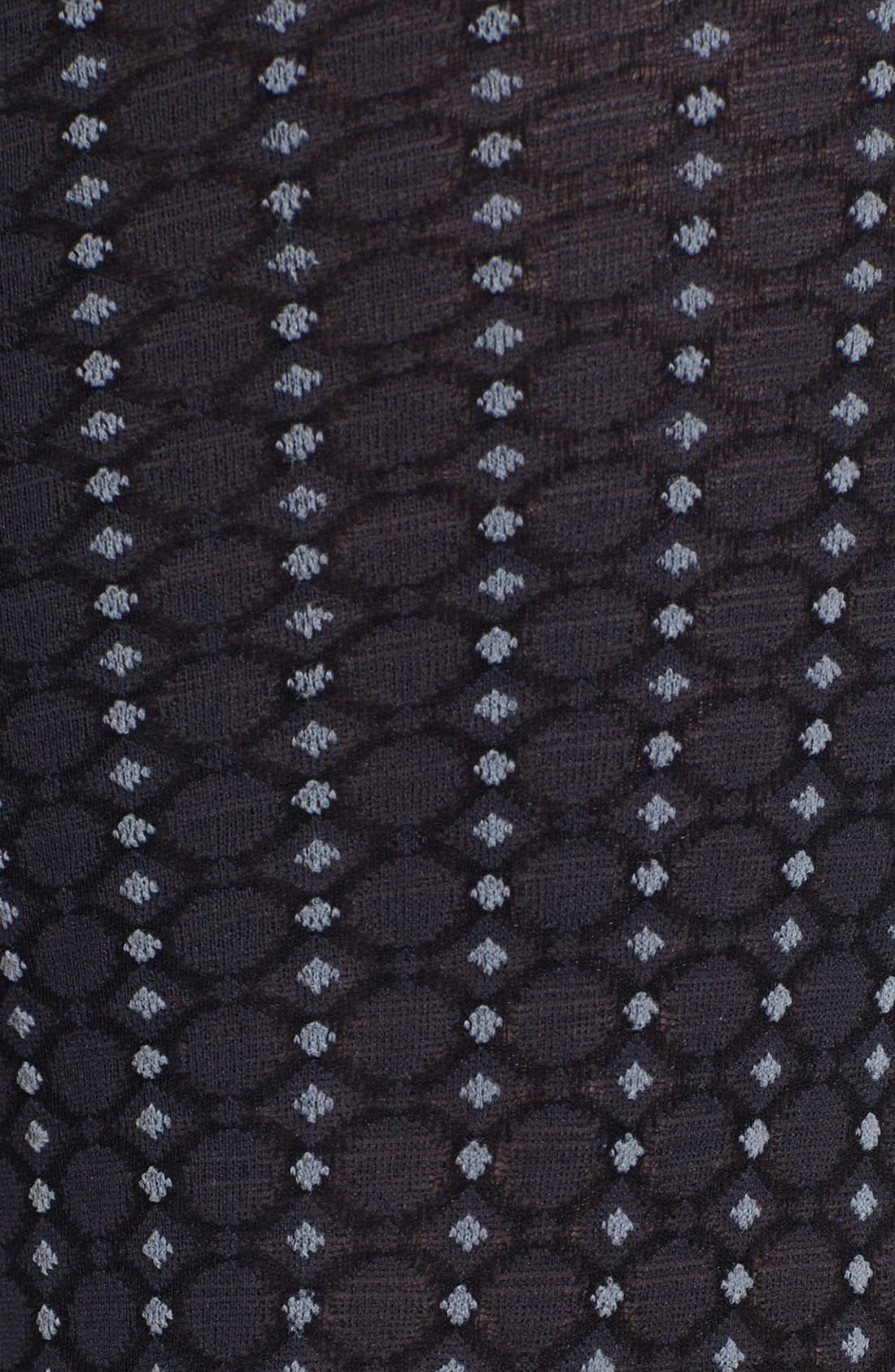 Alternate Image 2  - DKNY 'Menswear Foulard' Tights