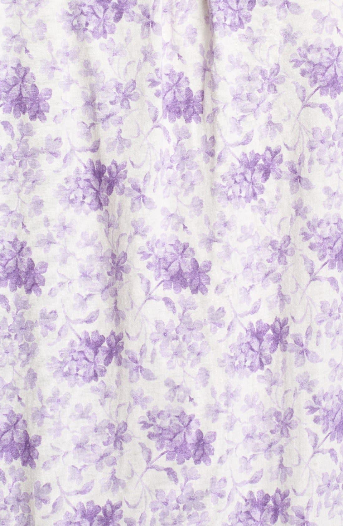Alternate Image 3  - Lauren Ralph Lauren 'Dunmore' Cotton Jersey Nightgown