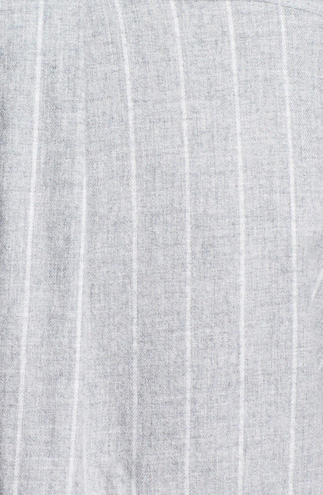 Alternate Image 3  - Lauren Ralph Lauren 'Wicklow' Brushed Twill Sleep Shirt