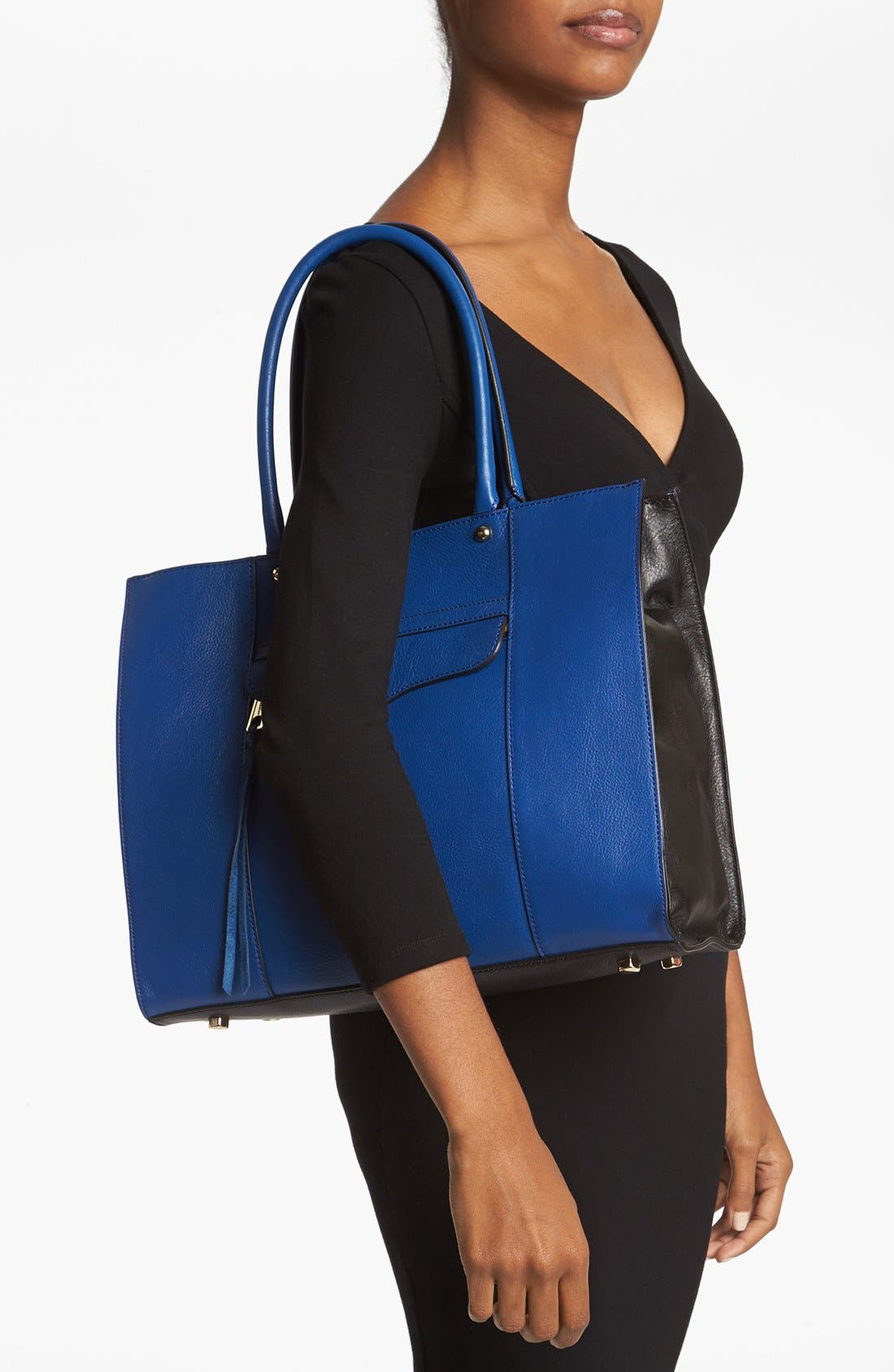 Alternate Image 2  - Rebecca Minkoff 'Medium MAB' Colorblock Tote