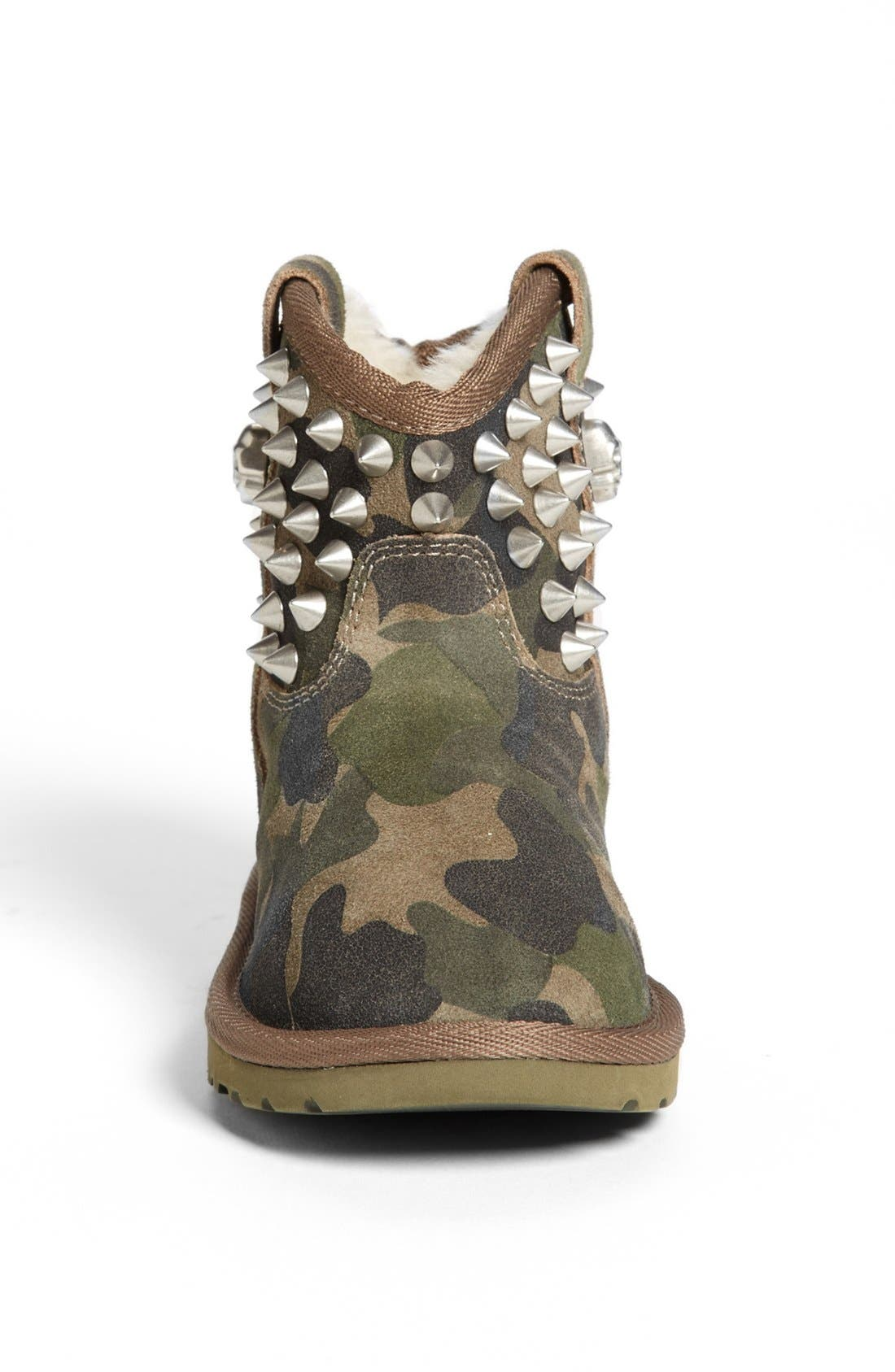 Alternate Image 3  - Ash 'You' Studded Camo Boot (Toddler, Little Kid & Big Kid)
