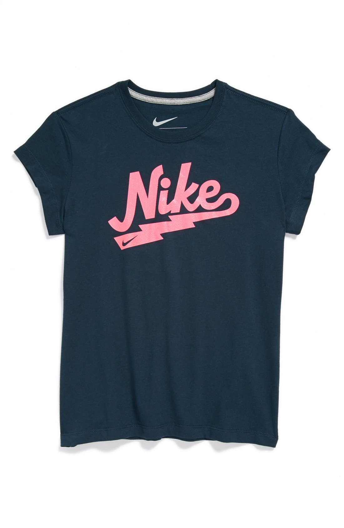 Alternate Image 1 Selected - Nike 'Rebel' Tee (Big Girls)