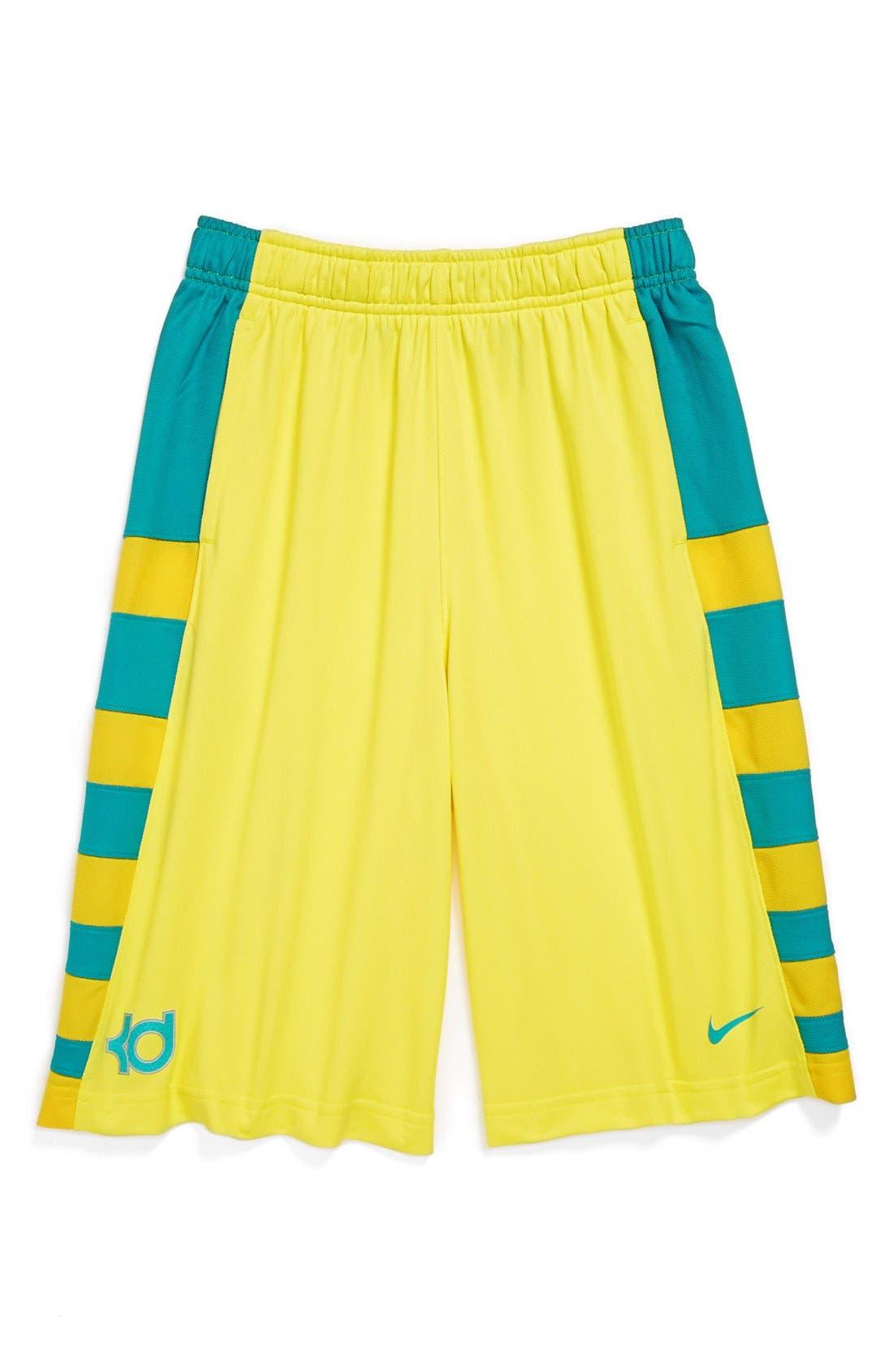 Alternate Image 1 Selected - Nike 'Lightning' Basketball Shorts (Big Boys)