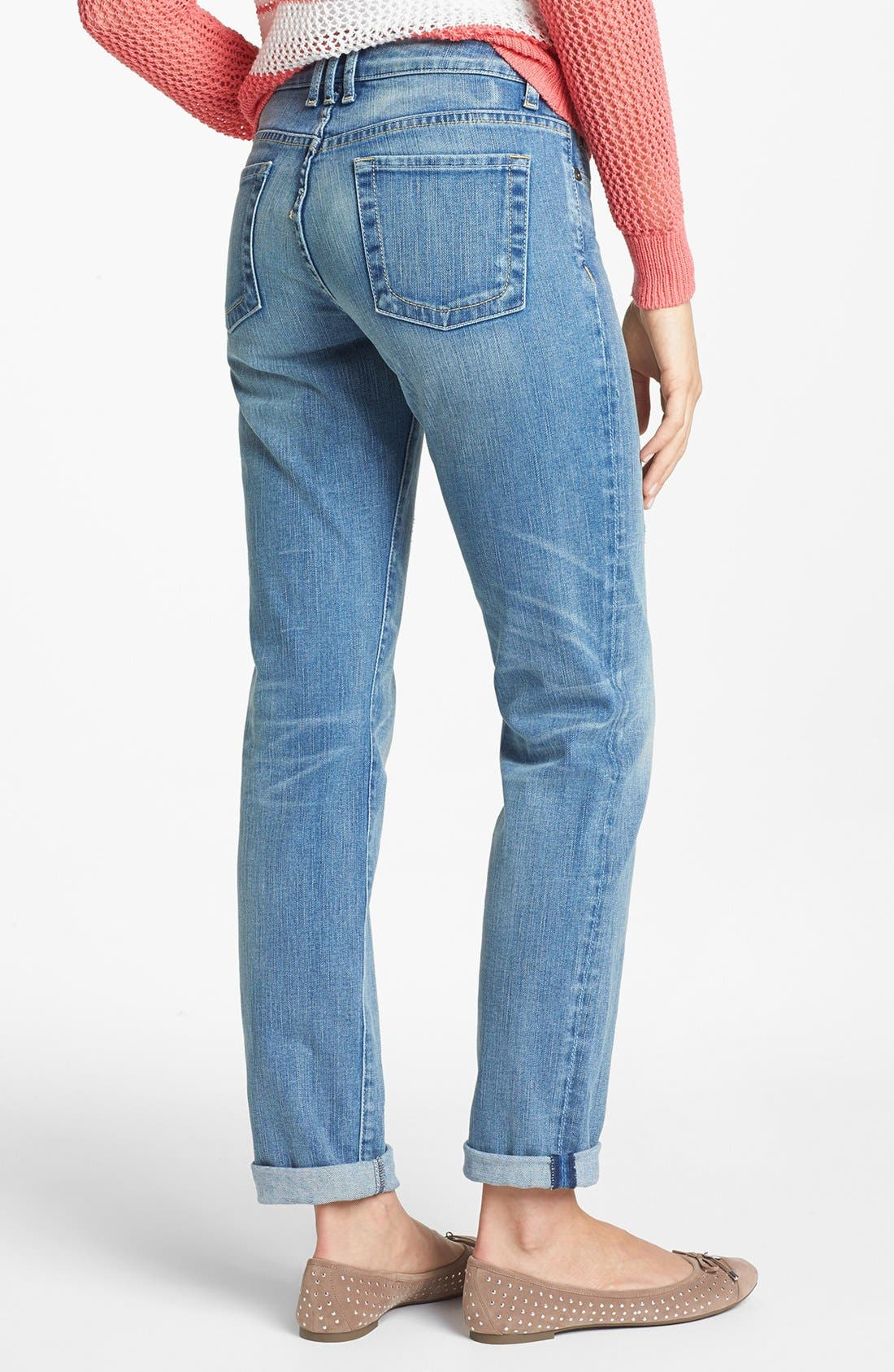 Alternate Image 3  - KUT from the Kloth 'Catherine' Crop Boyfriend Jeans (United)