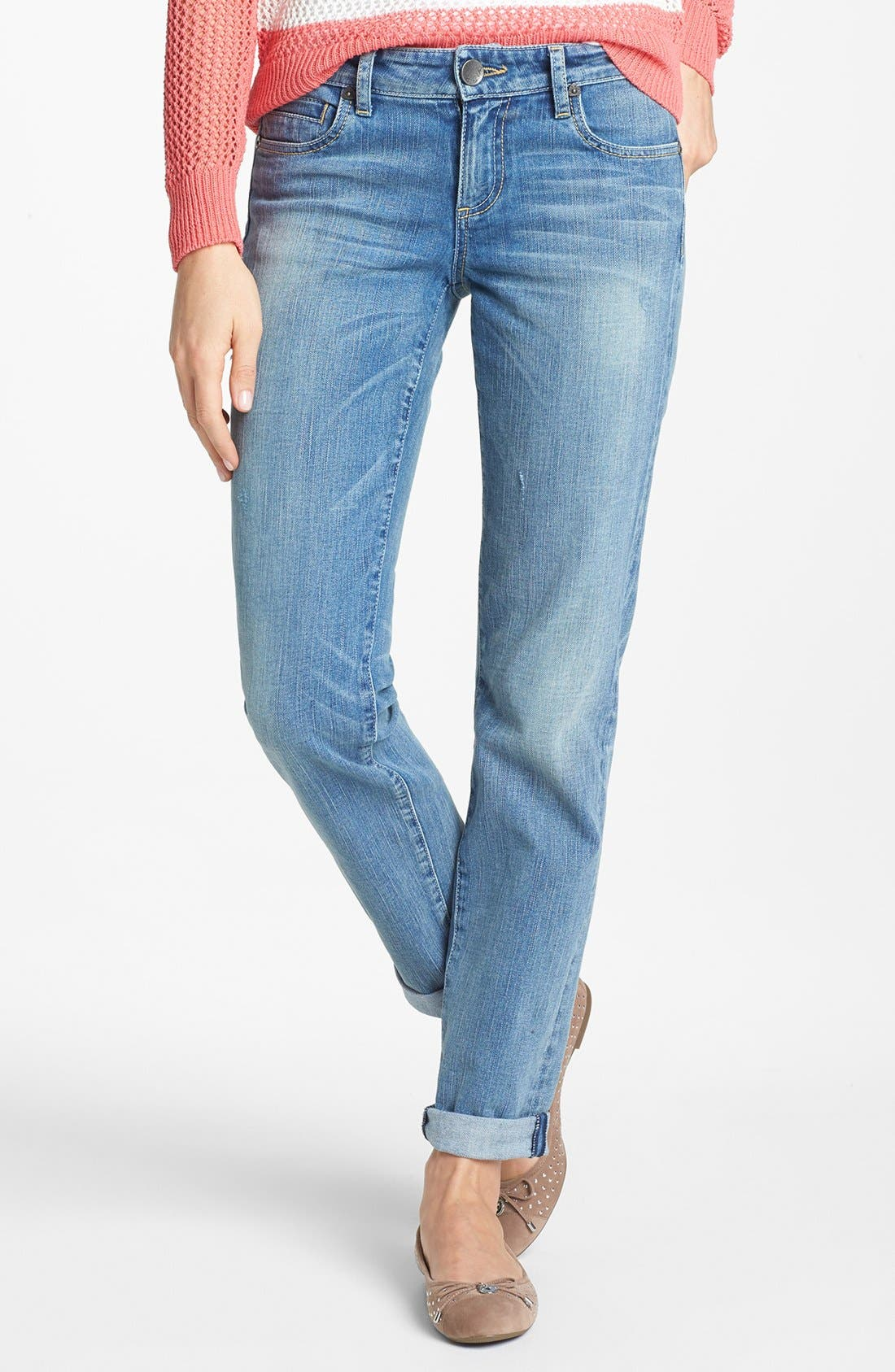 Alternate Image 2  - KUT from the Kloth 'Catherine' Crop Boyfriend Jeans (United)