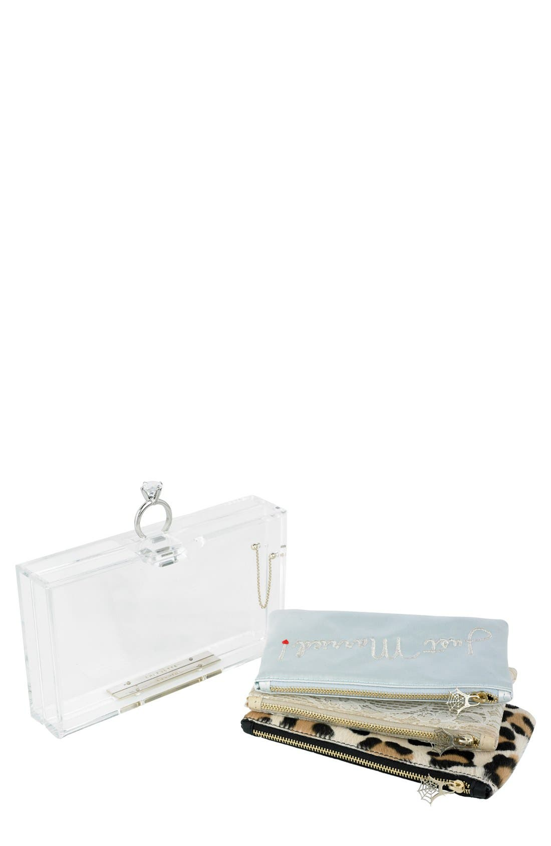 Alternate Image 1 Selected - Charlotte Olympia 'Marry Me Pandora' Clutch