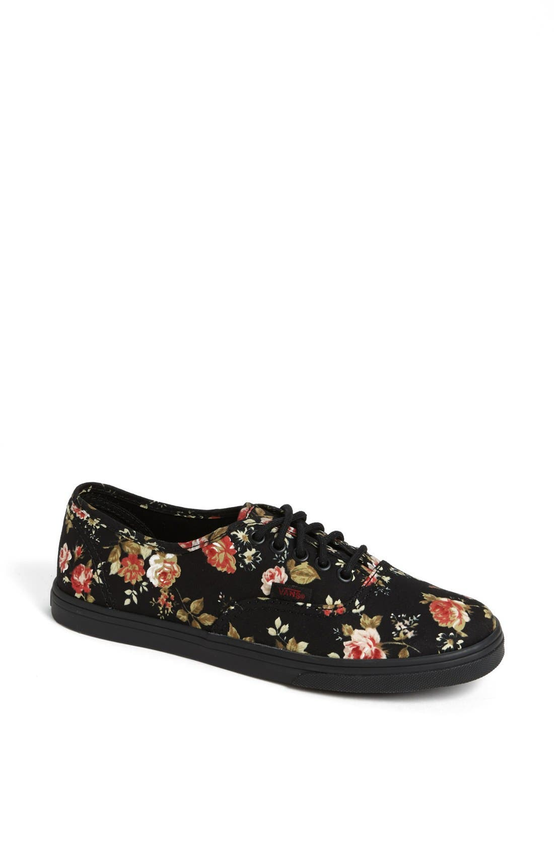 Alternate Image 1 Selected - Vans 'Authentic Lo Pro - Floral' Sneaker (Women)