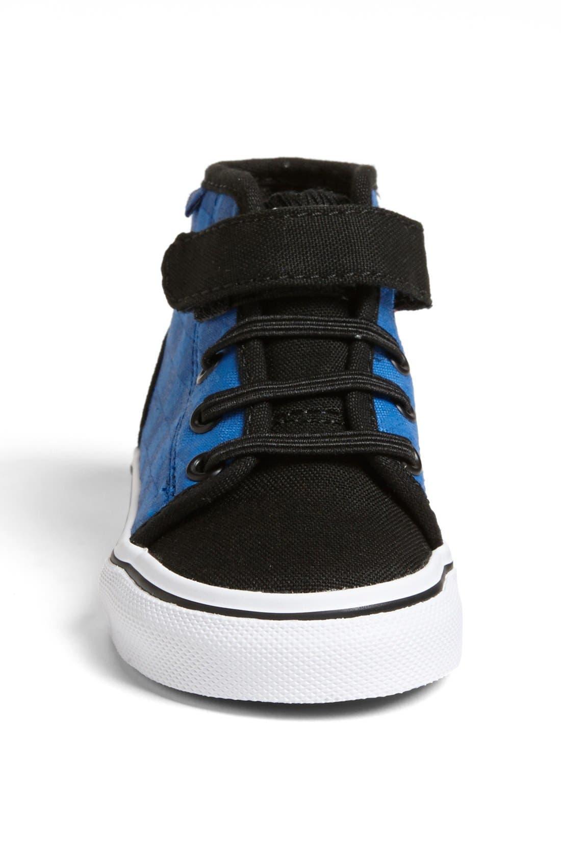 Alternate Image 3  - Vans High Top Sneaker (Baby, Walker & Toddler)