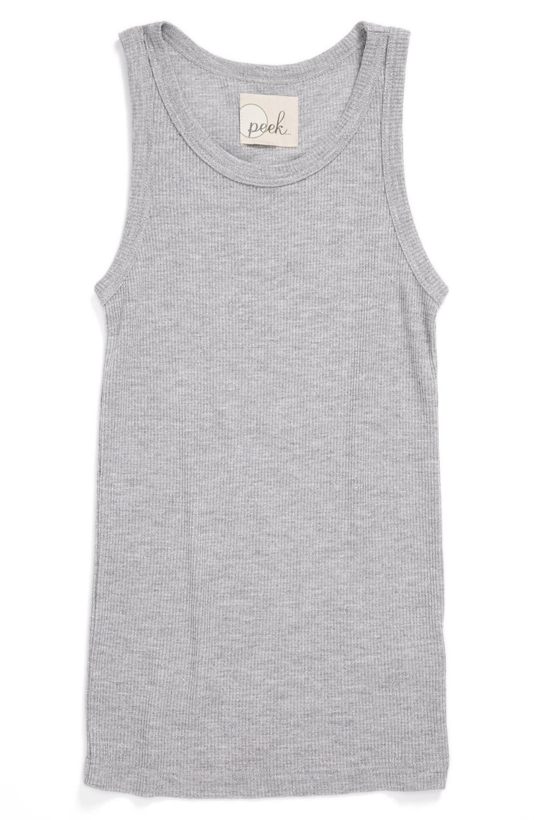 Alternate Image 1 Selected - Peek 'Merci' Tank (Toddler Girls, Little Girls & Big Girls)