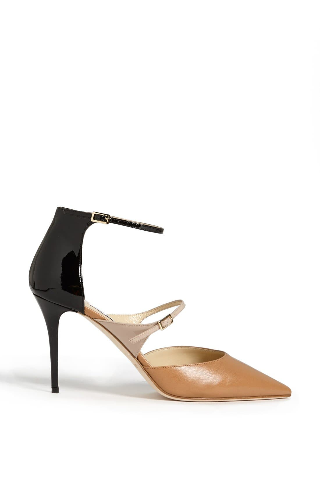 Alternate Image 4  - Jimmy Choo 'Twist' Ankle Strap Pump