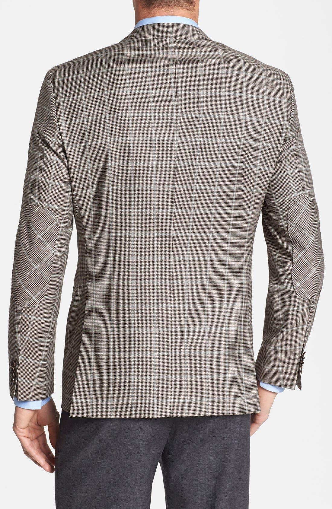 Alternate Image 2  - BOSS HUGO BOSS 'The Smith' Trim Fit Plaid Sportcoat