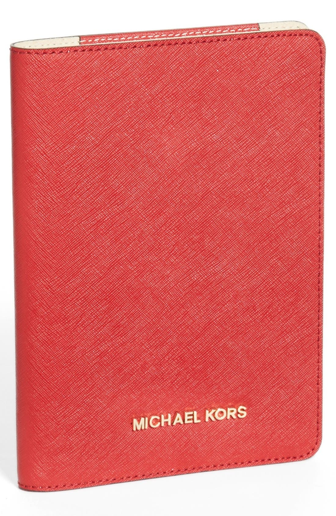 Main Image - MICHAEL Michael Kors Saffiano iPad mini Folio