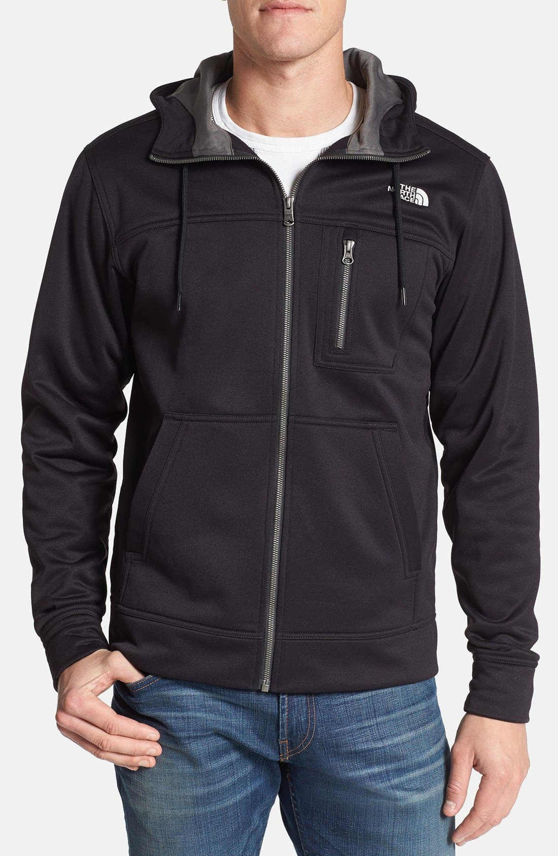 Alternate Image 1 Selected - The North Face 'Cowells - Park Fit' Fleece Hoodie