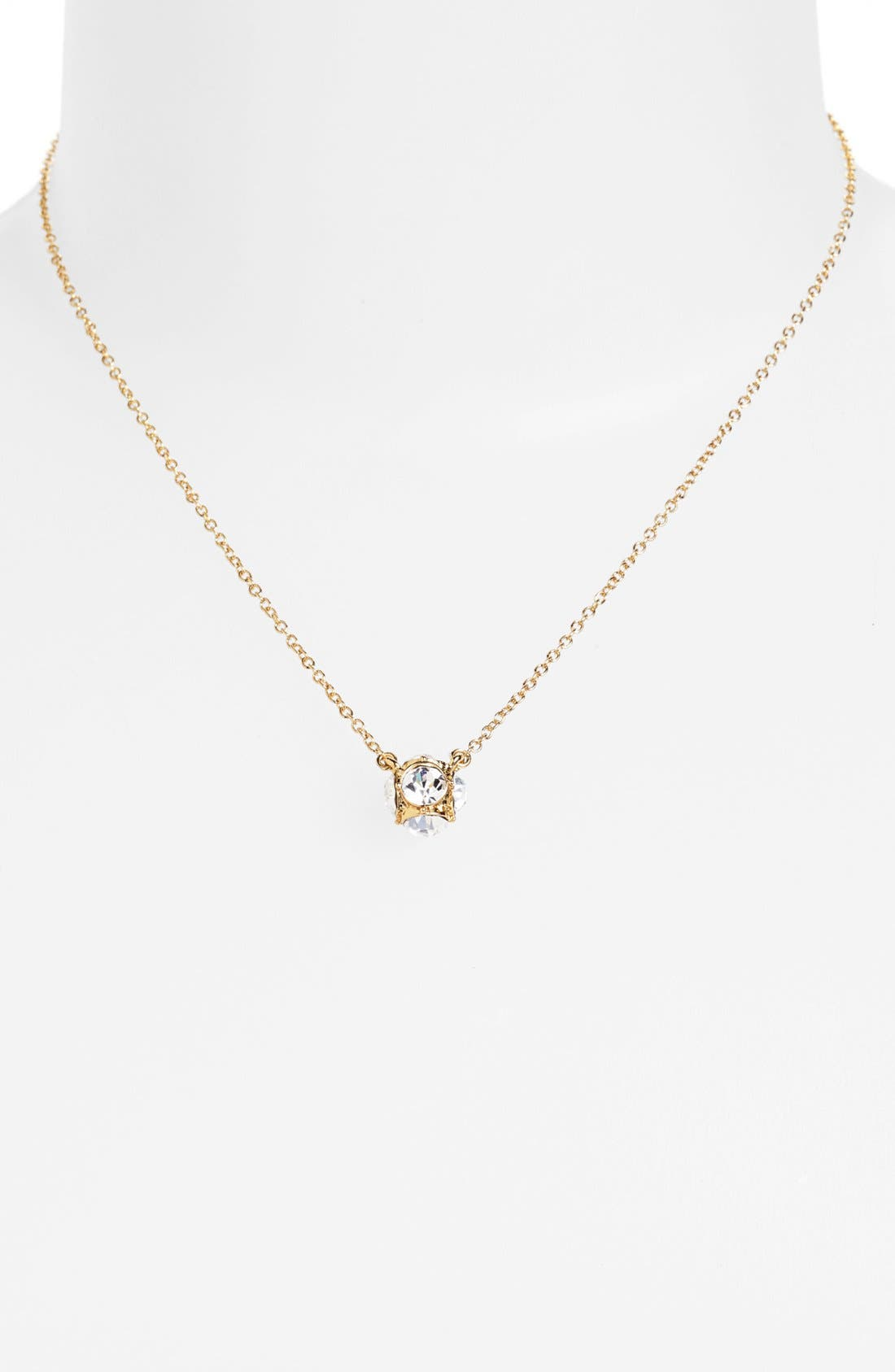 Alternate Image 2  - kate spade new york 'lady marmalade' mini ball pendant necklace
