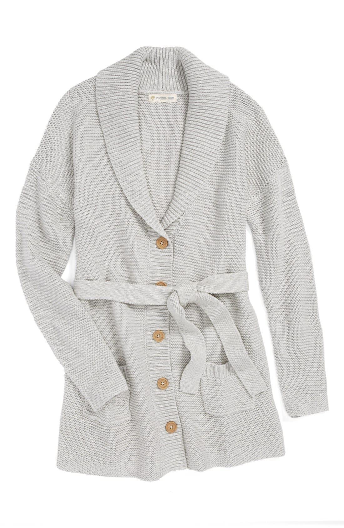 Alternate Image 1 Selected - Tucker + Tate 'Willow' Sweater Coat (Big Girls)