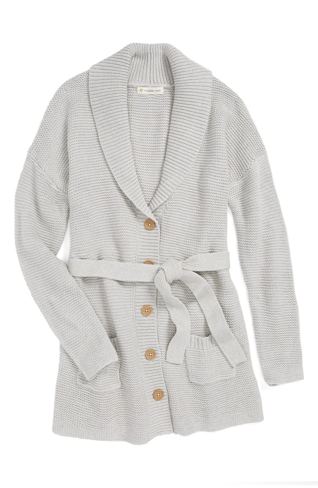 Main Image - Tucker + Tate 'Willow' Sweater Coat (Big Girls)