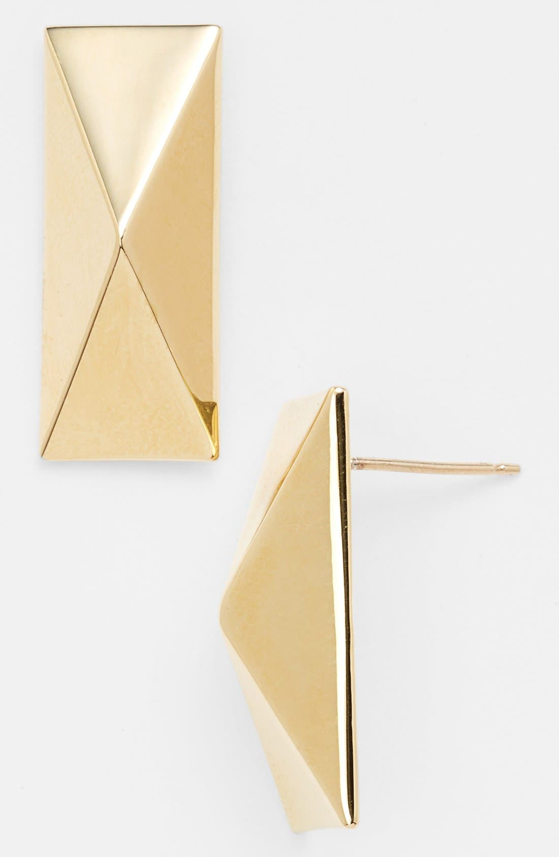 Alternate Image 1 Selected - St. John Collection Pyramid Earrings (Online Only)