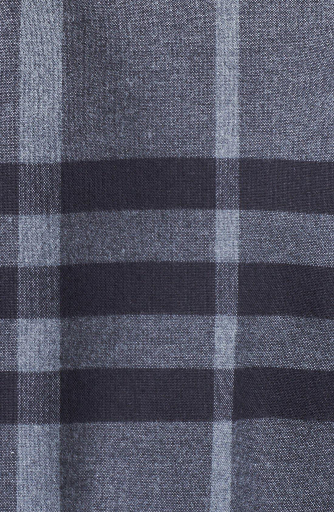 Alternate Image 3  - Burberry London Check Flannel Shirt