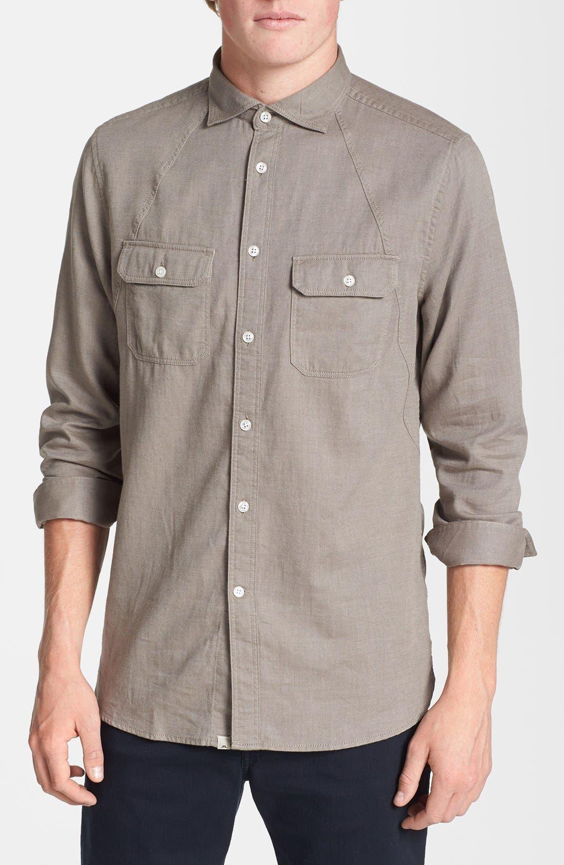 Alternate Image 1 Selected - J. Lindeberg 'Ward' Sport Shirt